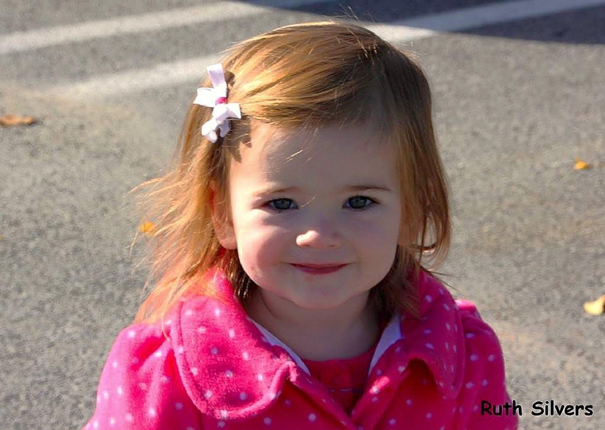 My great niece Skylar  by Ruth Silvers