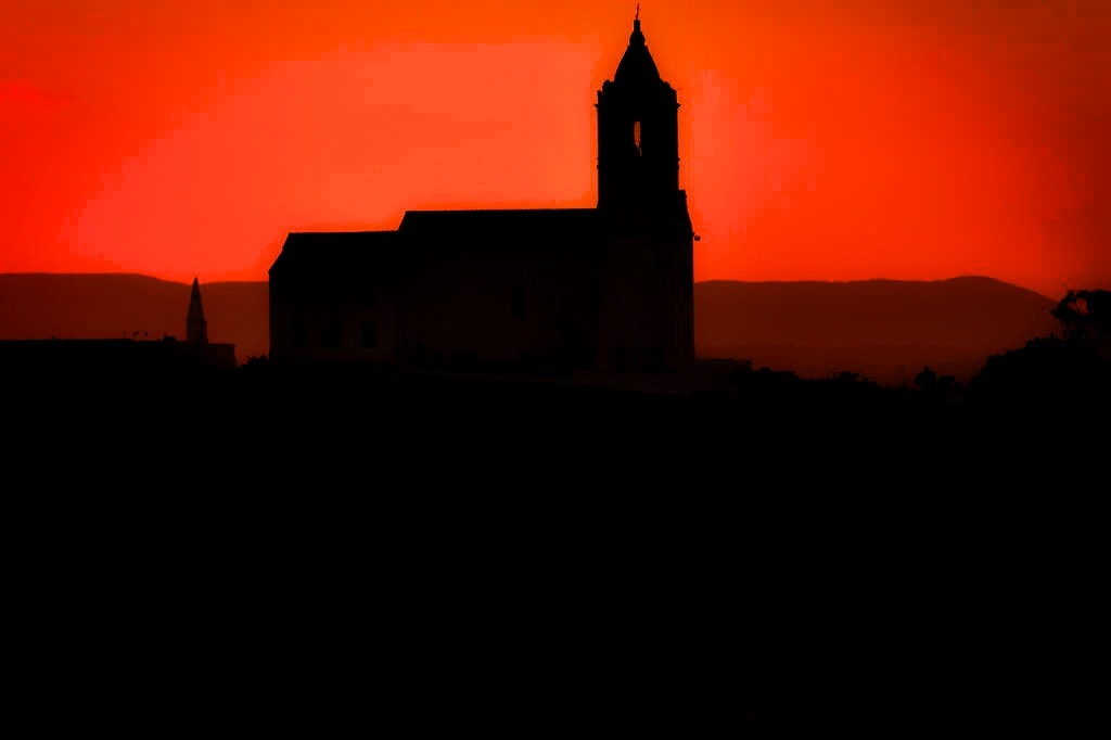 Sunset church by sergiofernandes6767
