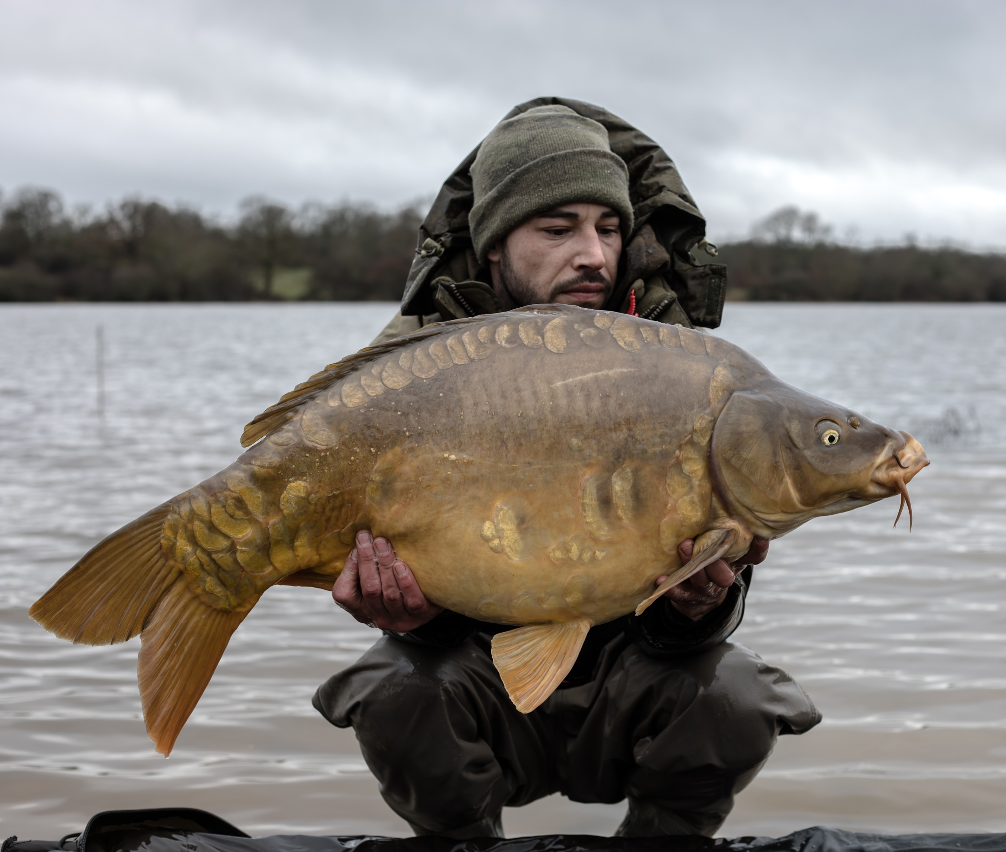 Carp fishing by Kevin Noulet