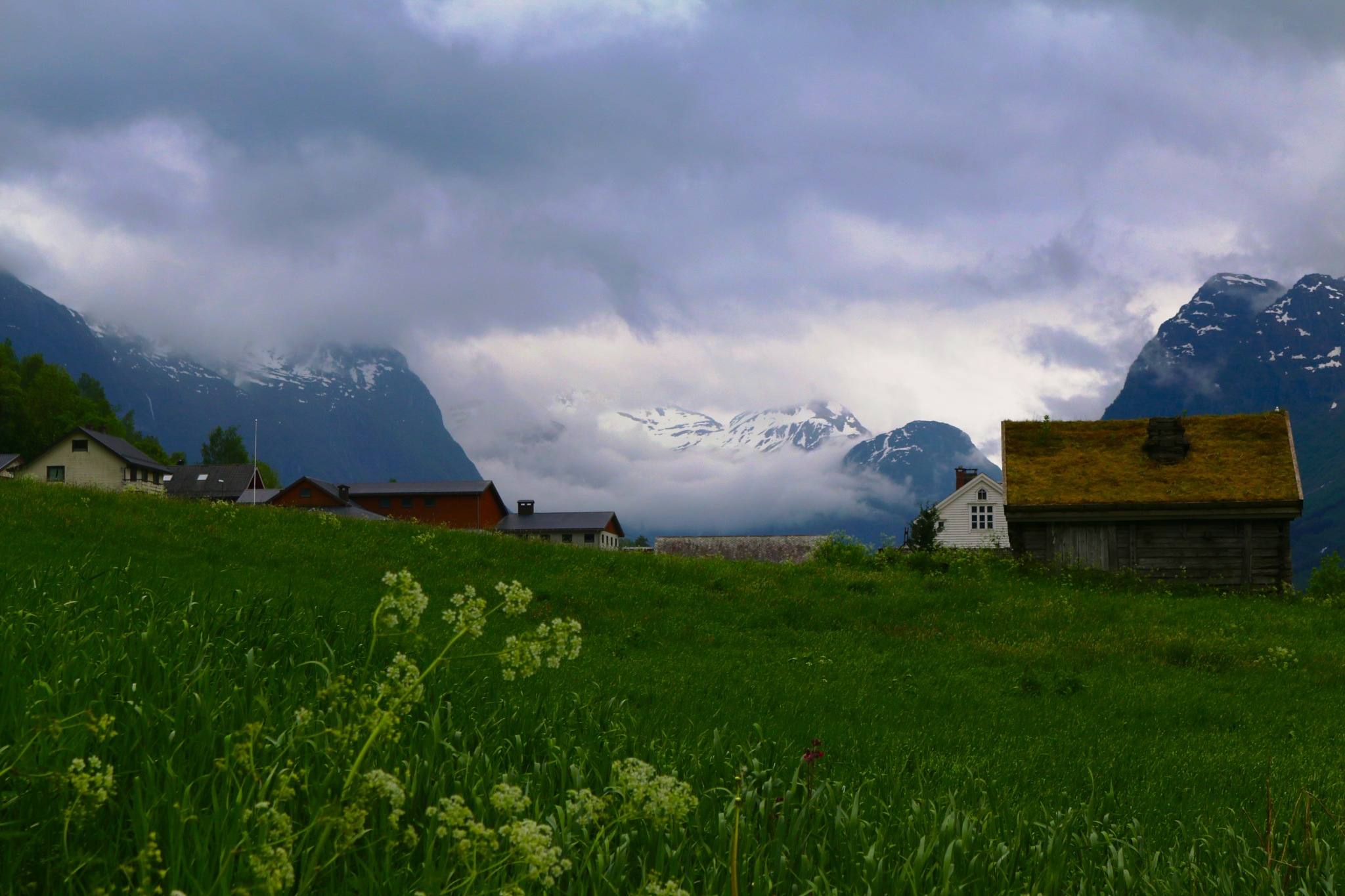 Olden Norway by Barry Carlisle