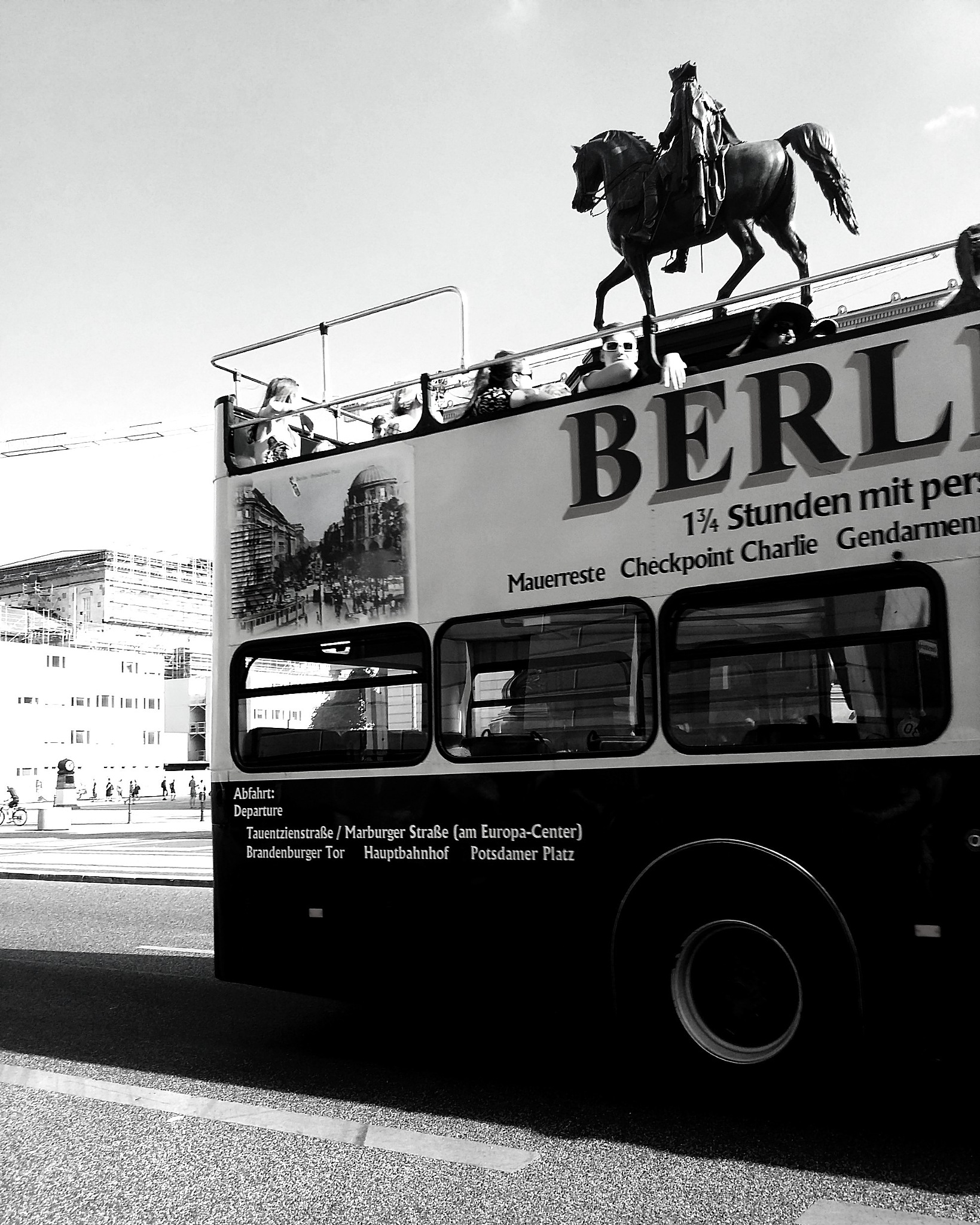 Horse on the Bus. by kookieshot