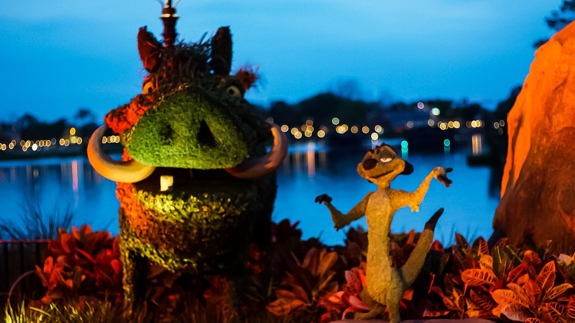 Epcot by Ed Hill