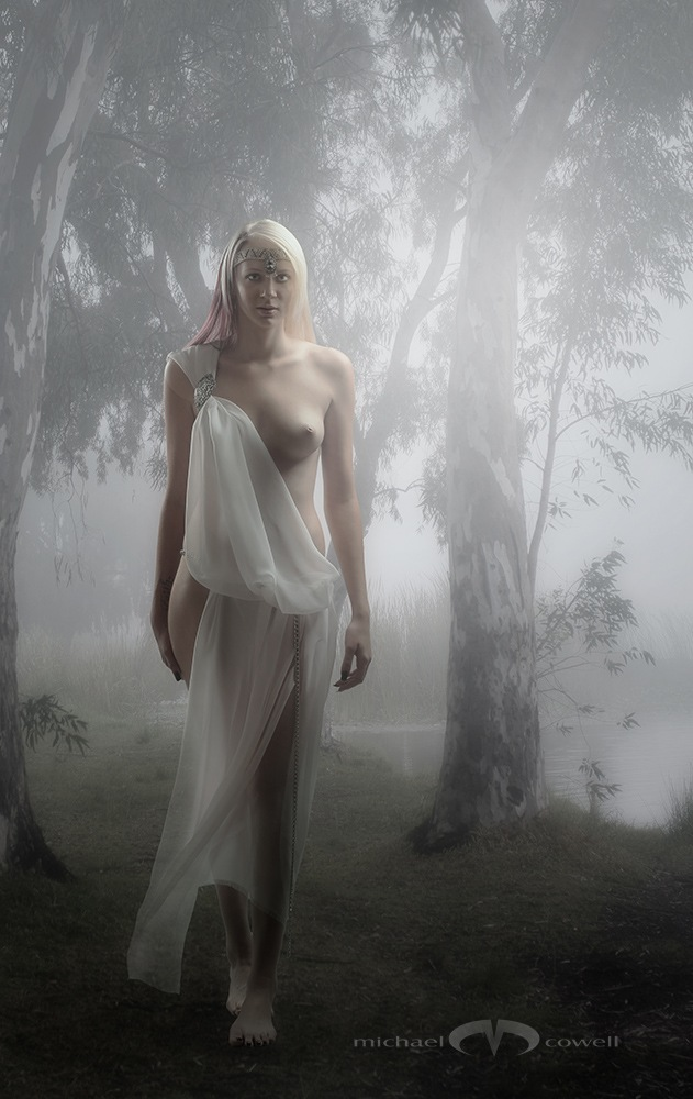 Maiden of the morning mist by Michael Cowell