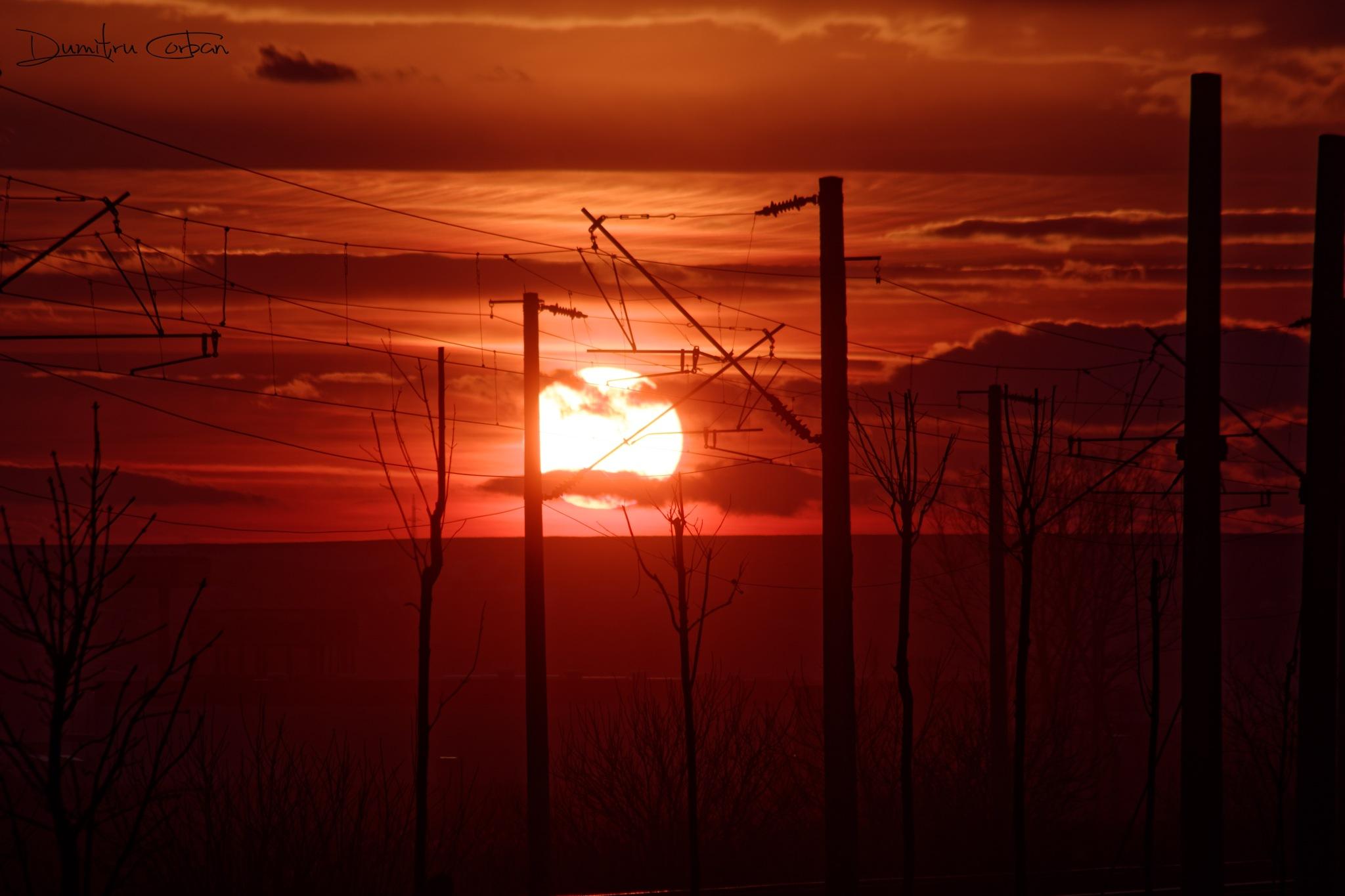A beautiful sunset to end a beautiful day ... by Dumitru Dan Corban