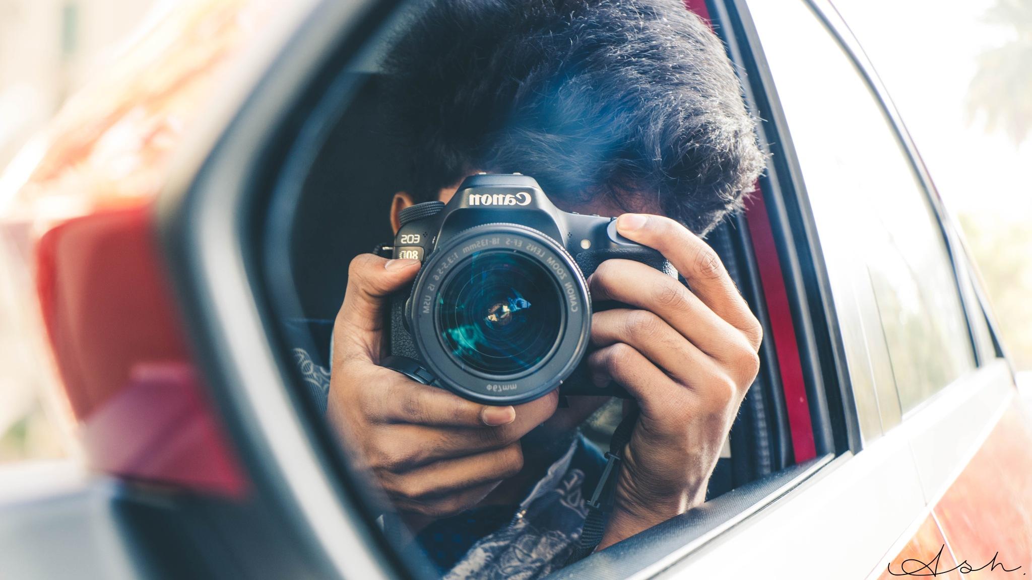 Mirror Shot by Ashwin S Kumar