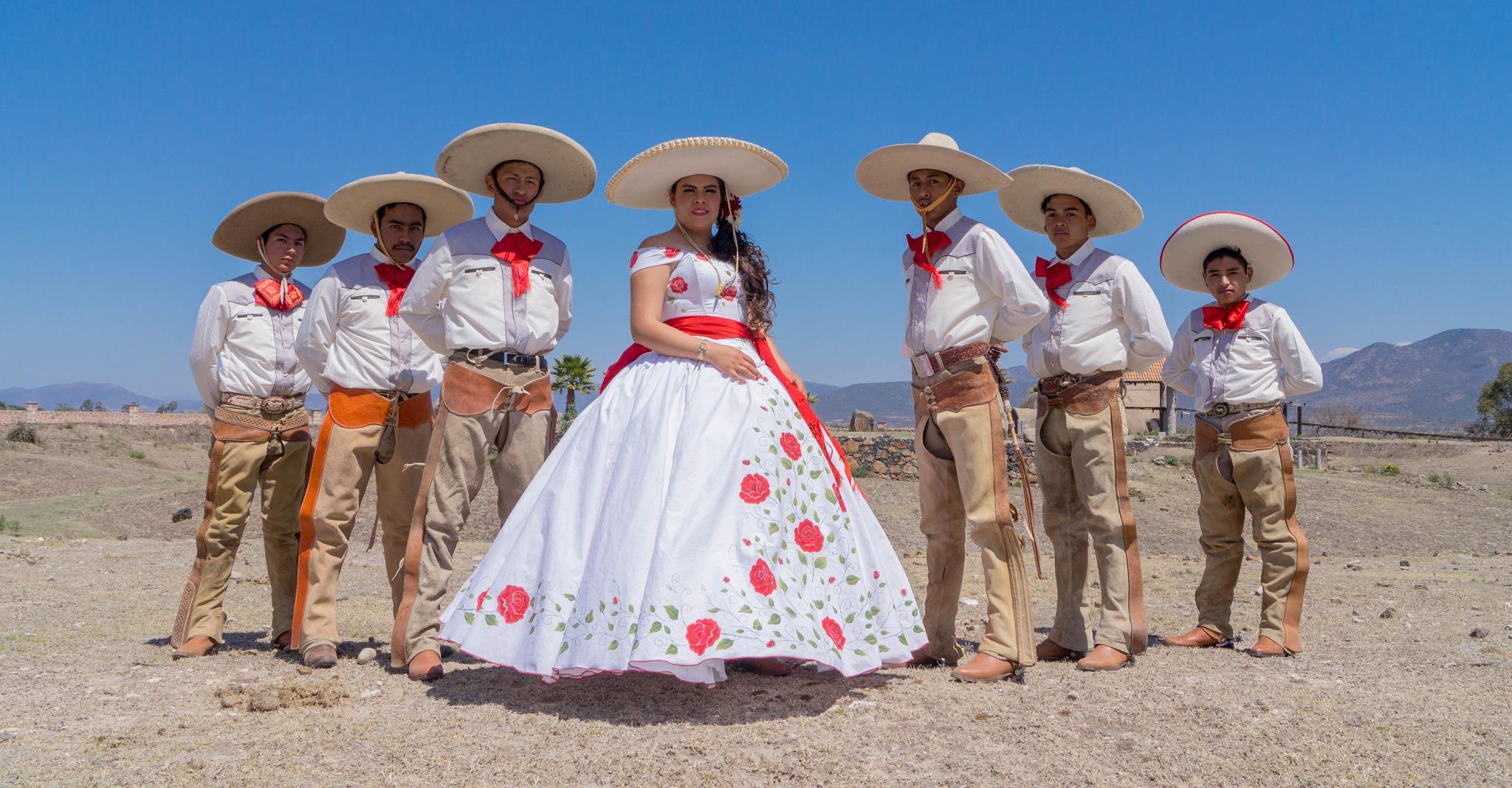 quinceañera by Oscar Flores Hernández