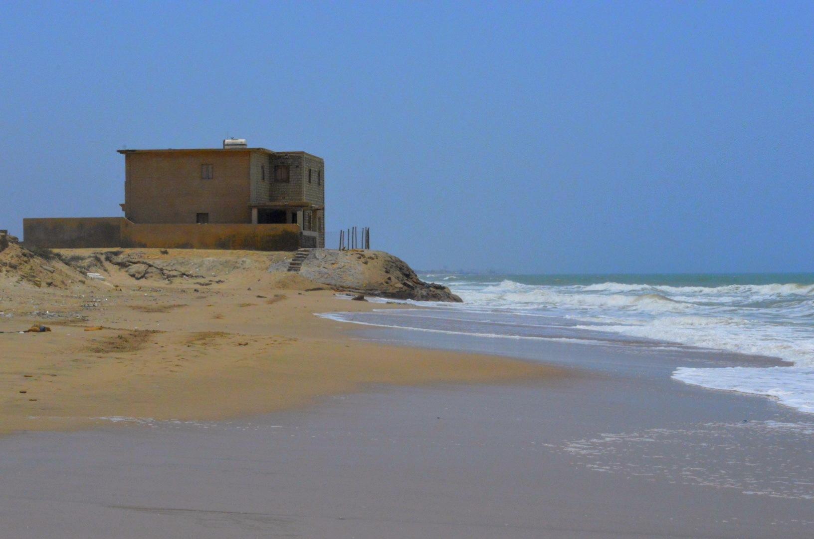 Silent beach by Shumaila Khatri