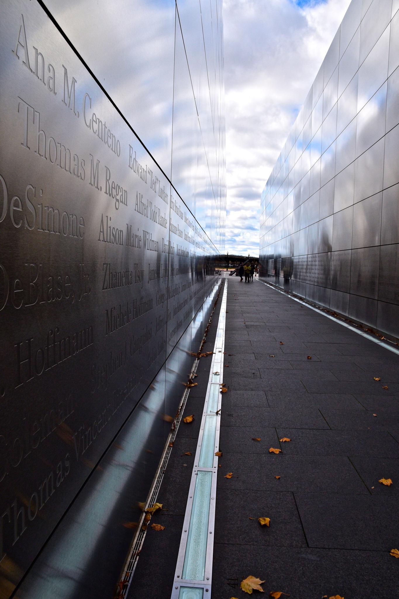 9/11 Memorial by Ivana Castelo-Branco