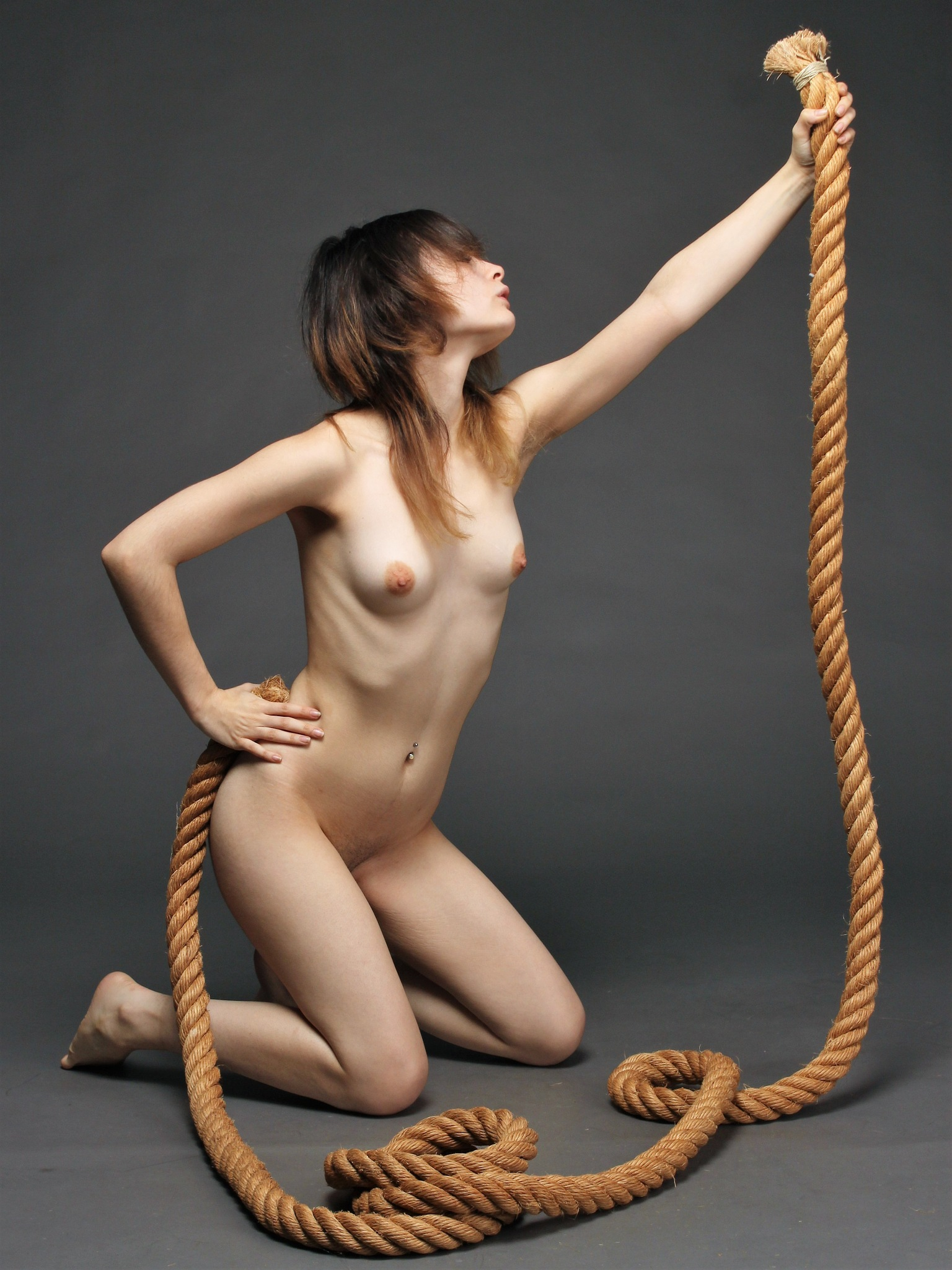 With rope by Mathieu Magnée