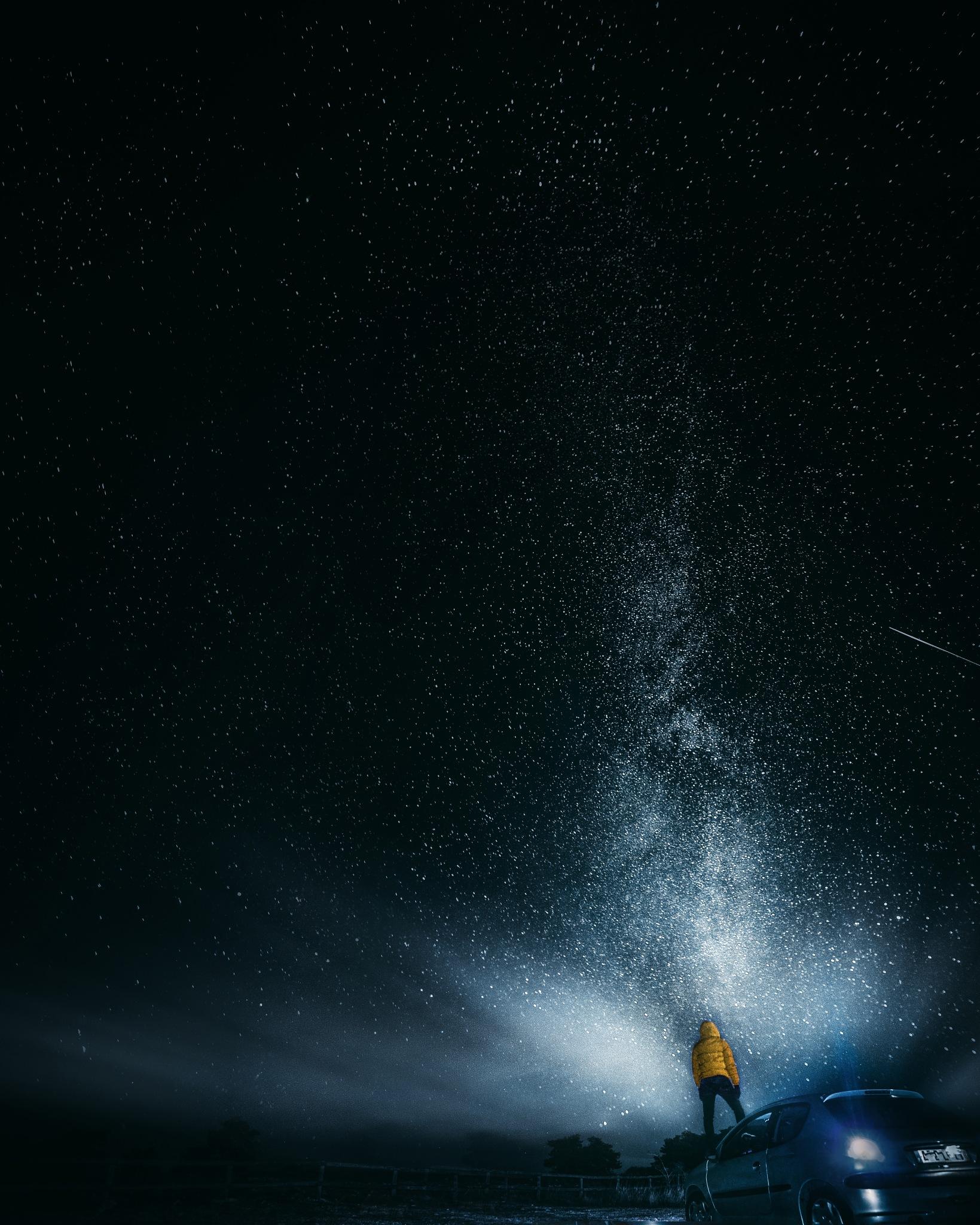 Beautiful night stars from the plateau of Caussols / Calern by Samir Belhamra @Grafixart_photo