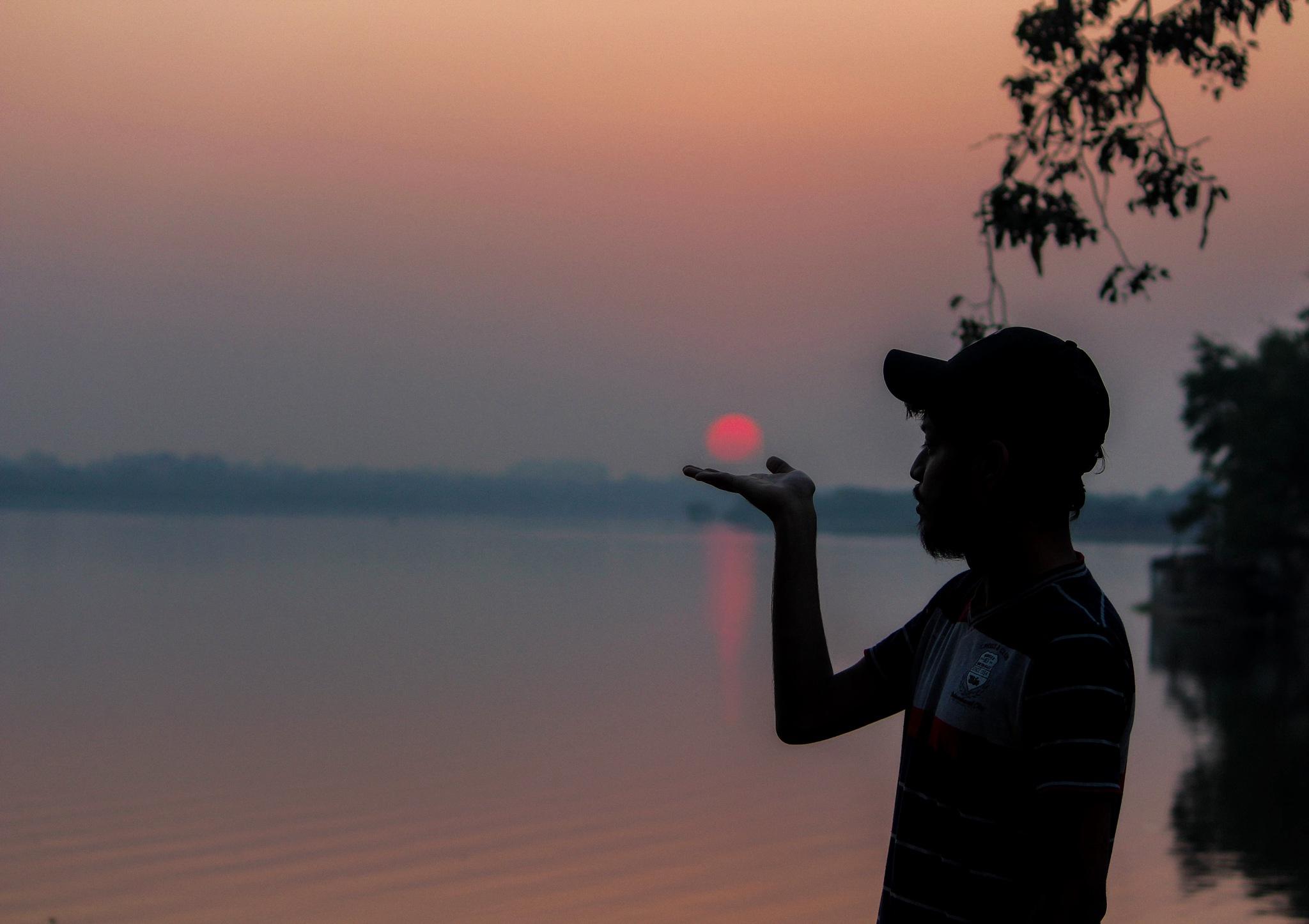 sunset by Kunal varade