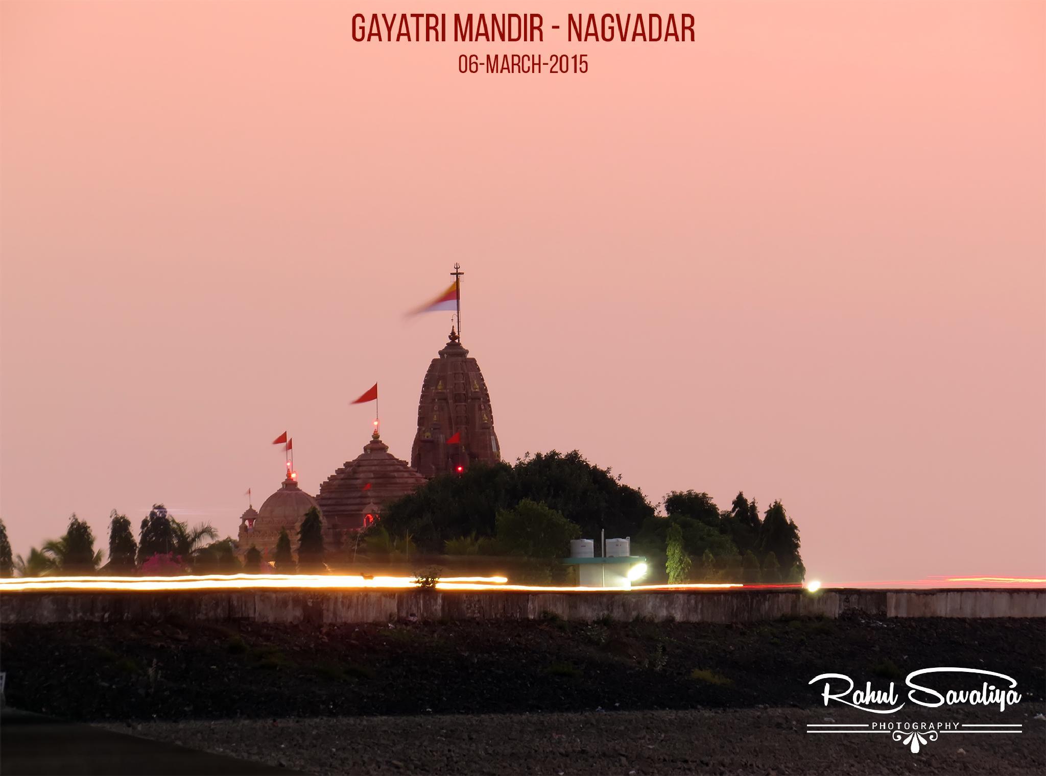 Gayatri Temple - Venu Dam by Rahul Savaliya