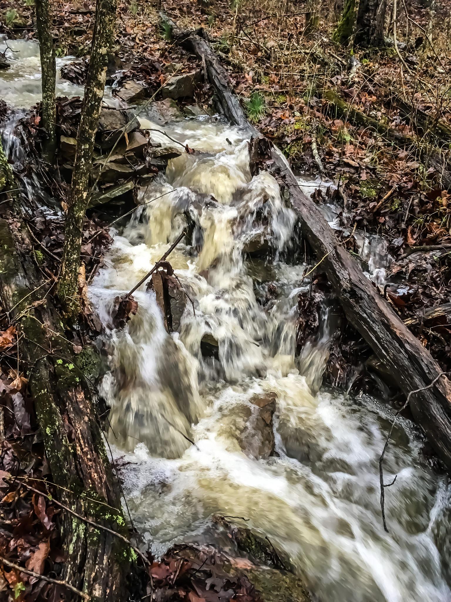 Waterfall  by amanda b.