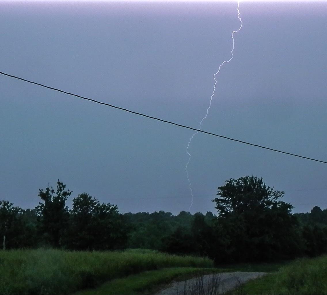 Lightning  by amanda b.