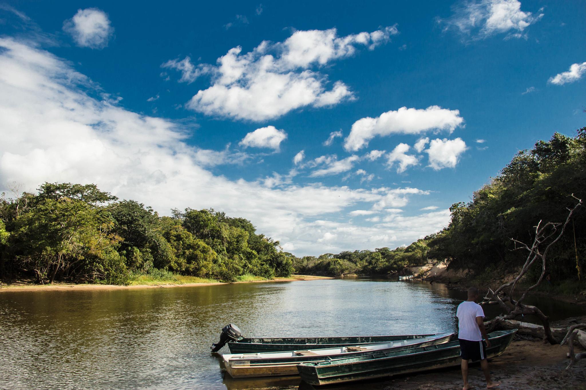 Rupununi River by Angela Singh