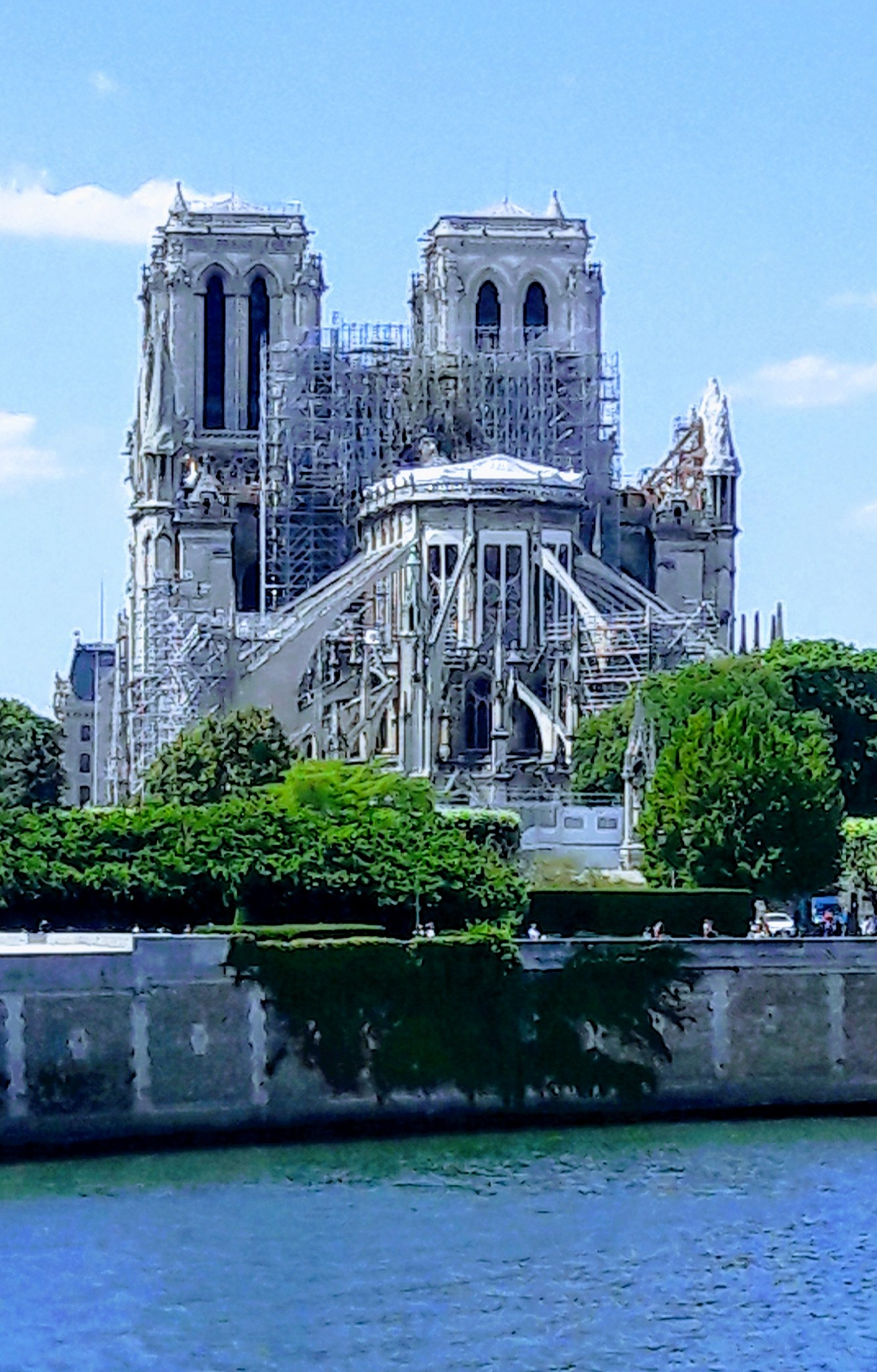 Notre-Dame after by Vittoria