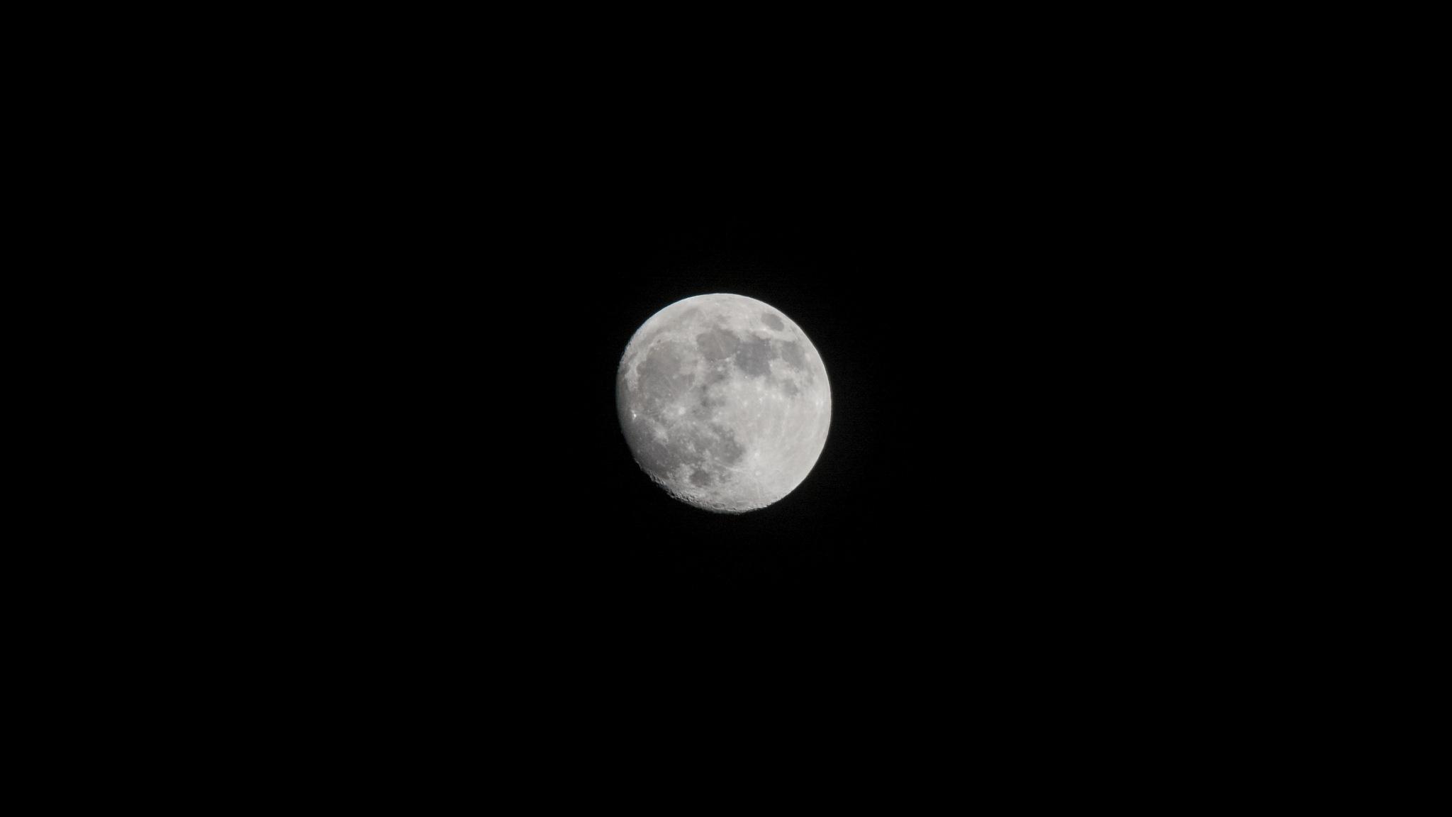 moon by Raino Hakkarainen