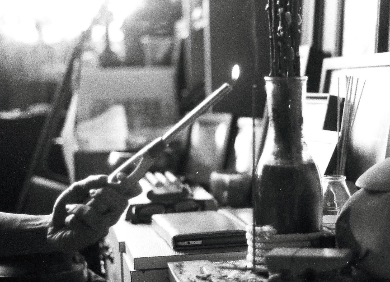 Tibetan Incense by Sheryl Tsoi