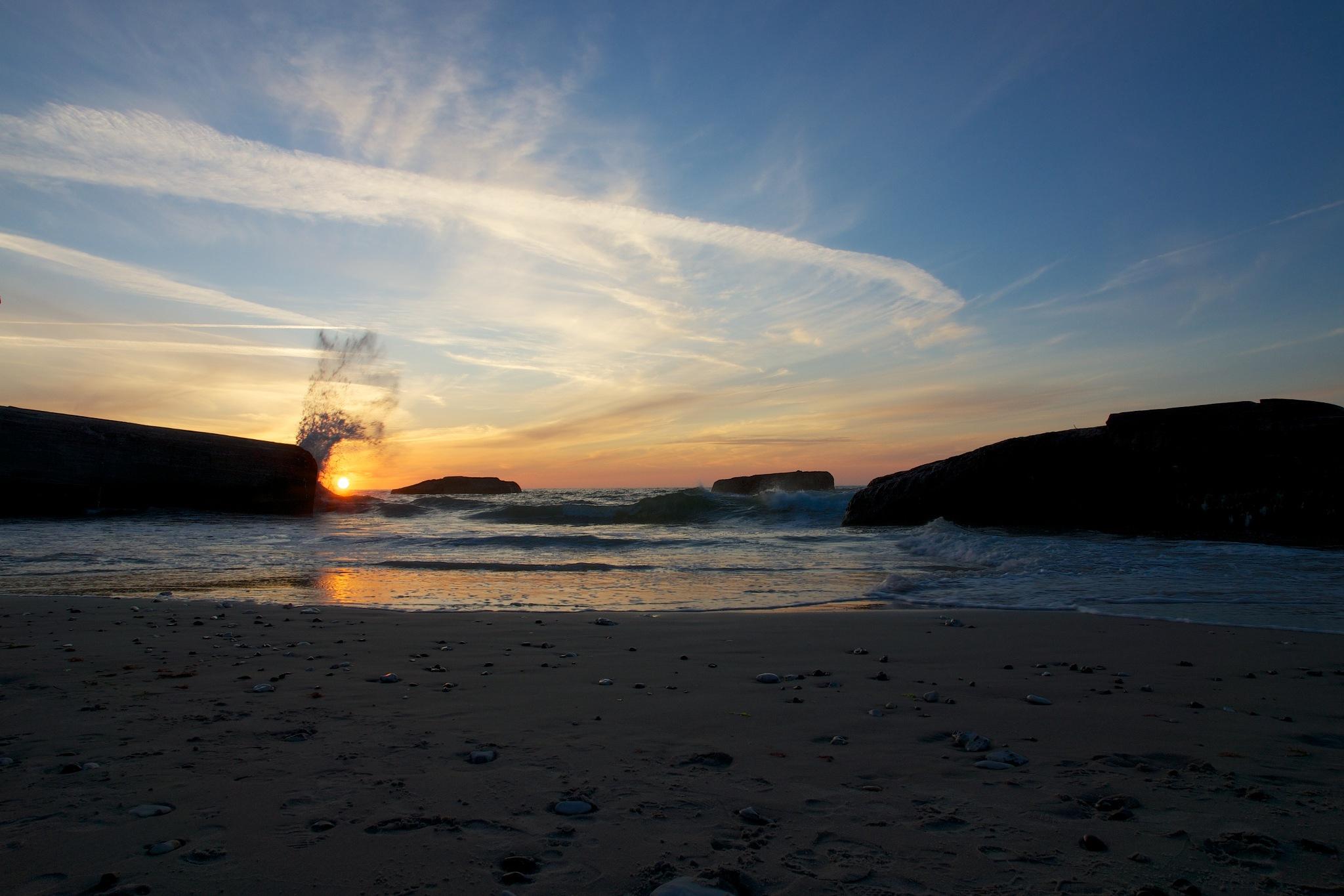 Sunset Denmark by Per Borring