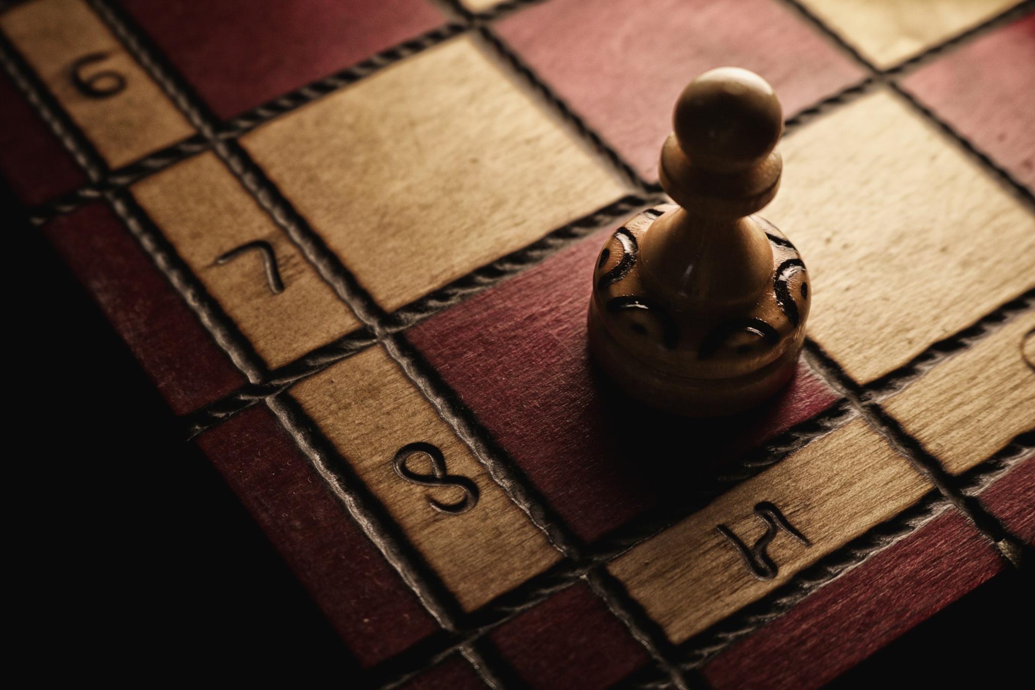 Chess pawn by Kamil Rasała