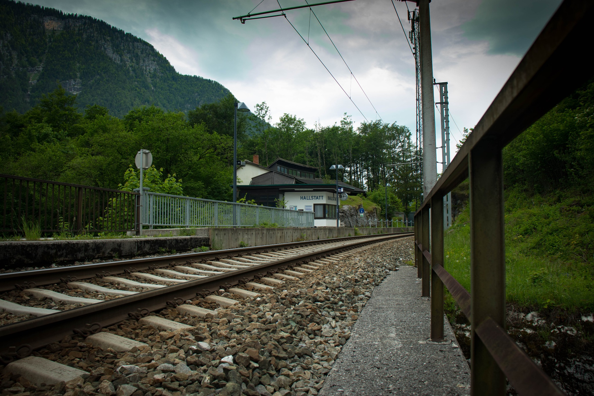 Trainstation in Hallstatt by FrameLife Studio