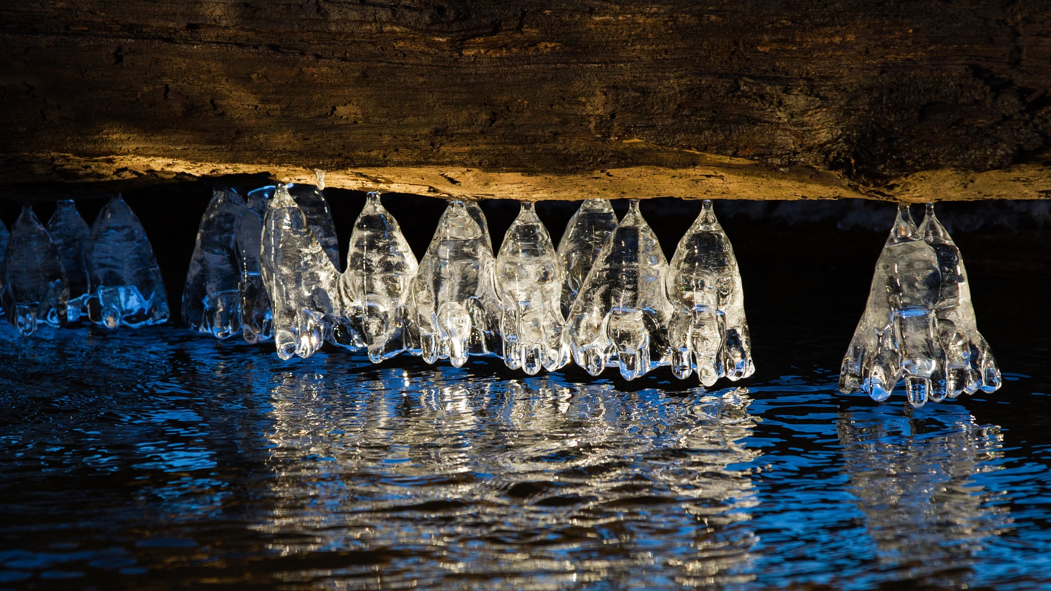 Ice Formation 02 by LancePangborn