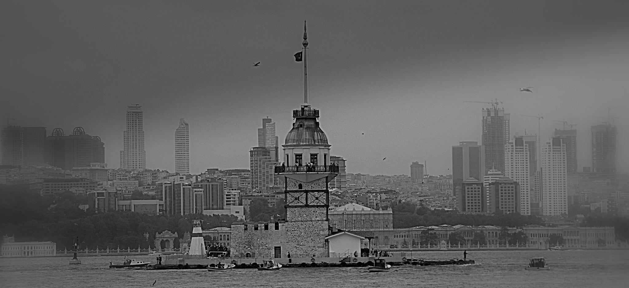 Maiden Tower by Elisabeth Alkaya