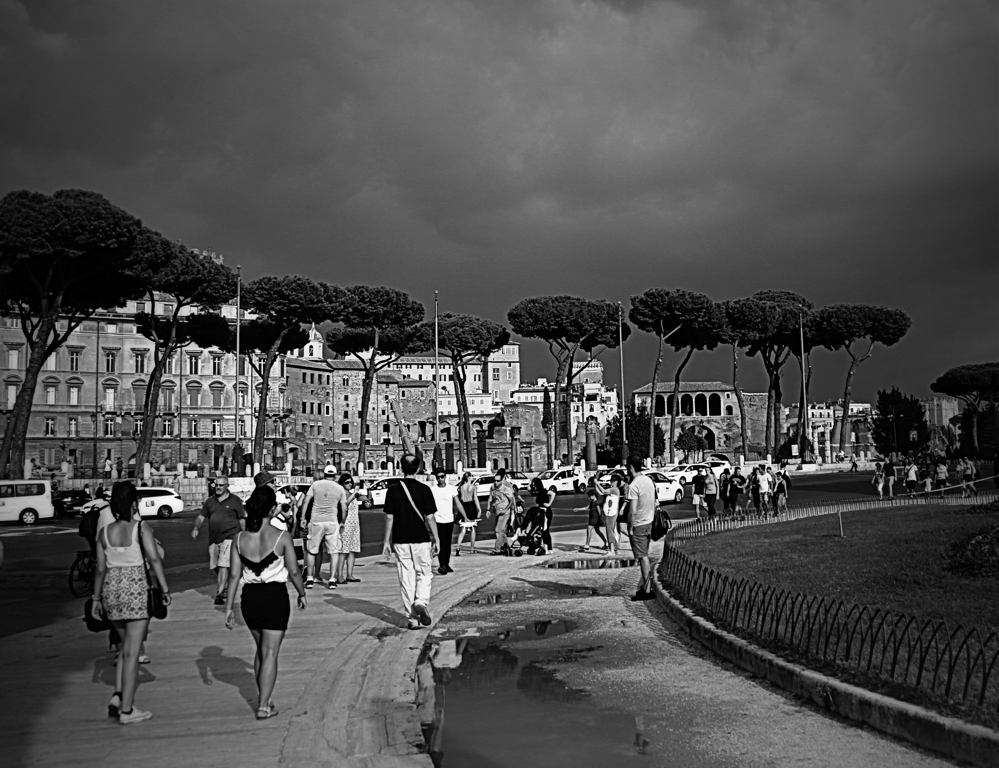 Rain in Rome by Elisabeth Alkaya
