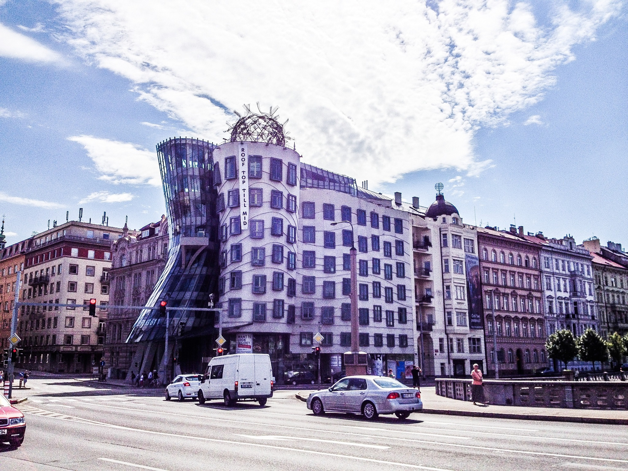 Dancing House by Guendalino Marchesi