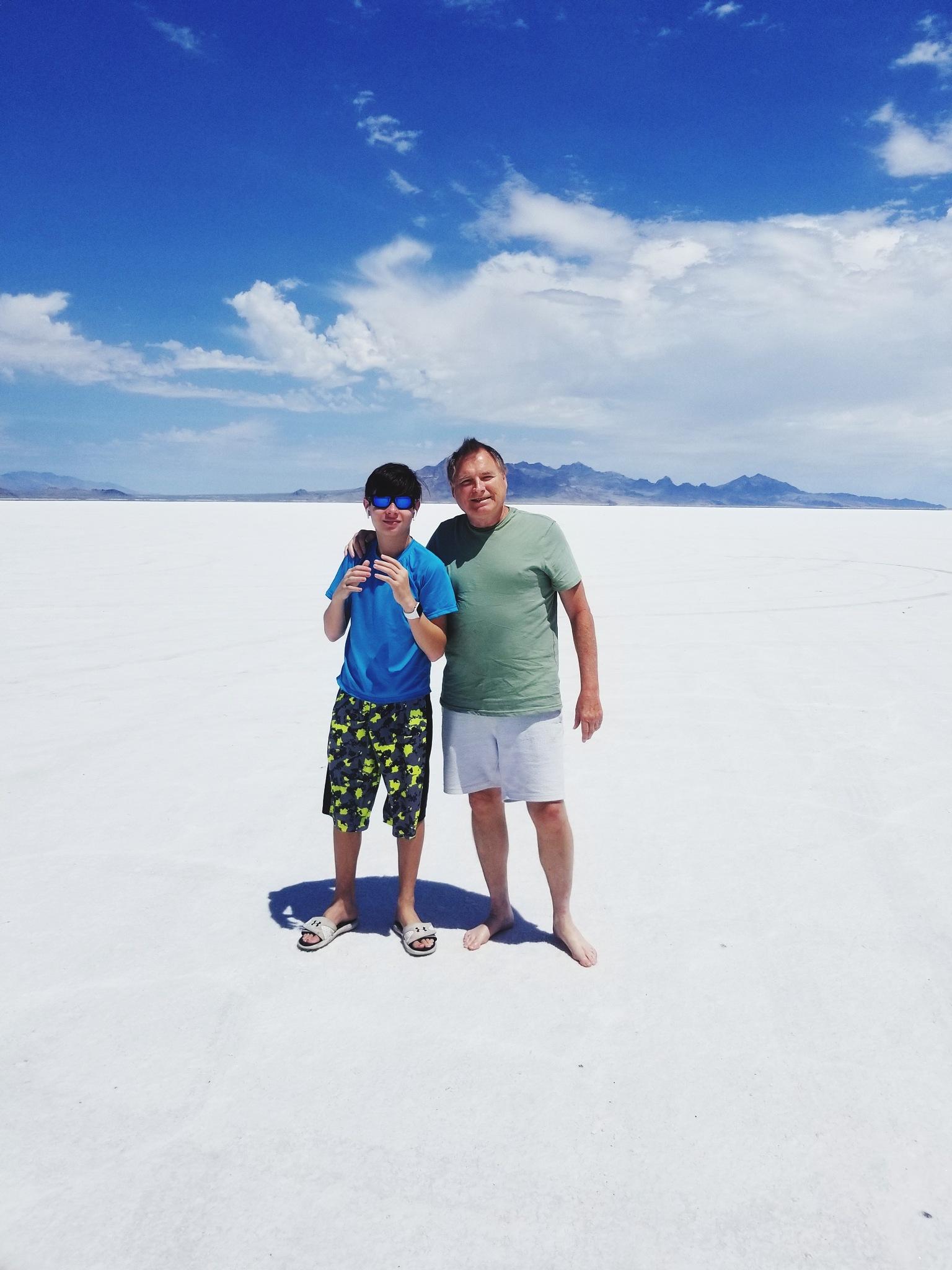 Salt Flats of Nevada  by Erin Lynch