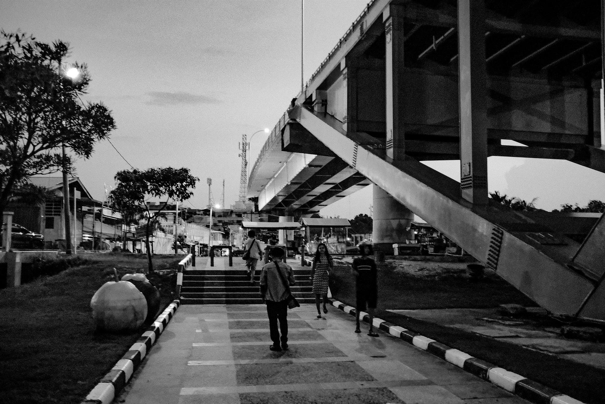 Beneath the bridge by kukuhnd