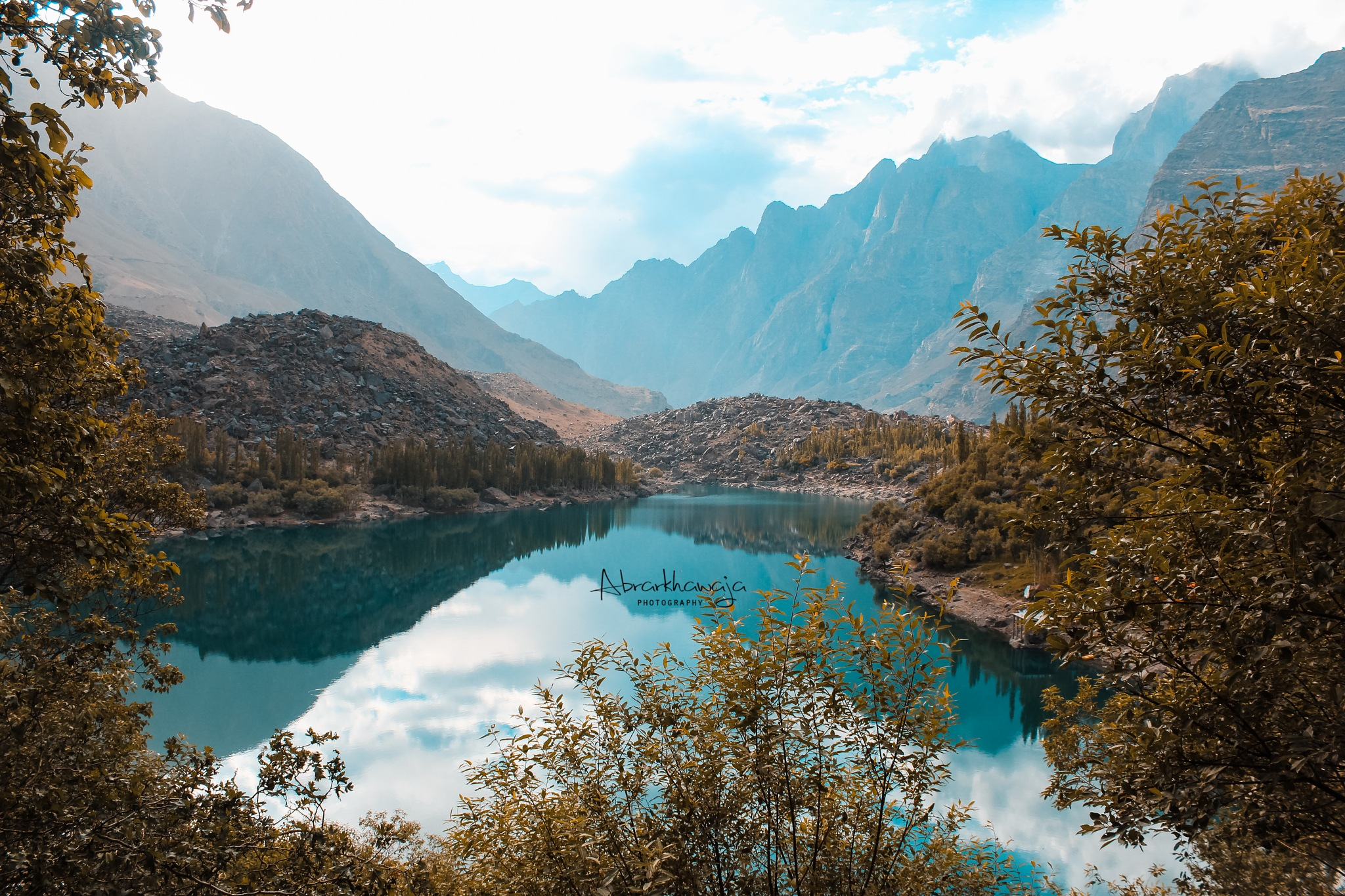 upper kachura lake skardu by Abrar khawaja