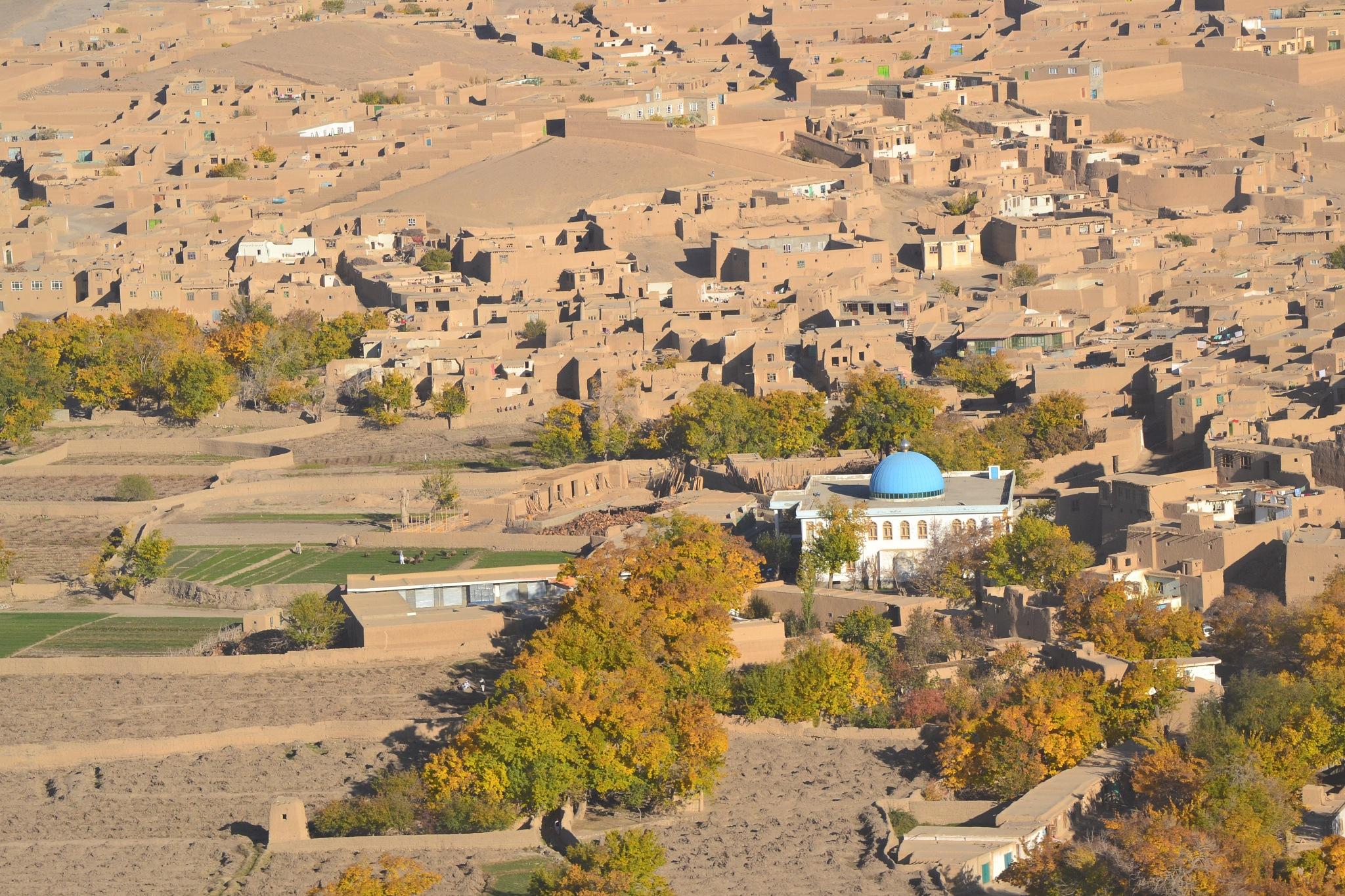 Afghan Village by Brian Delfin