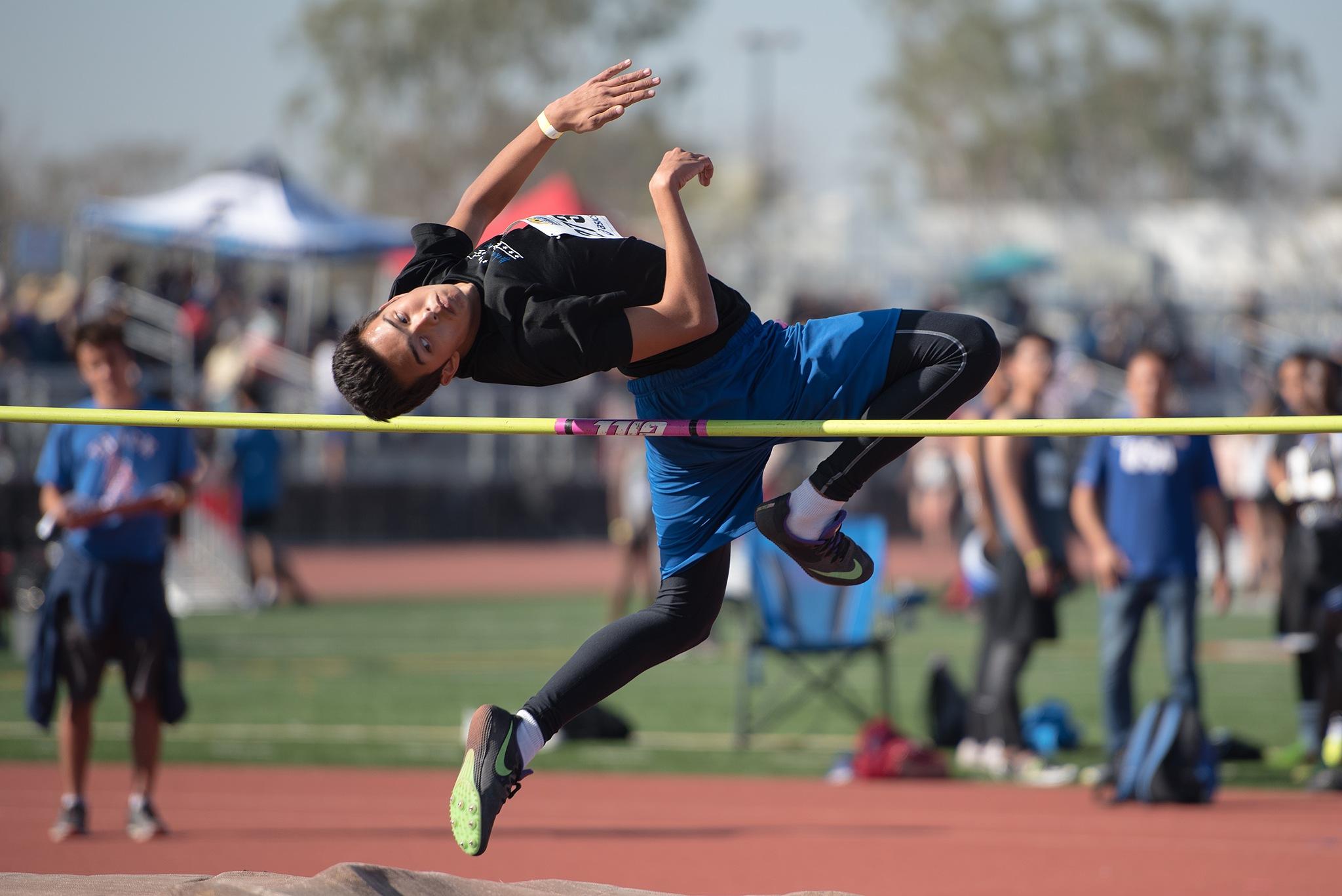 High Jumper by Brian Delfin