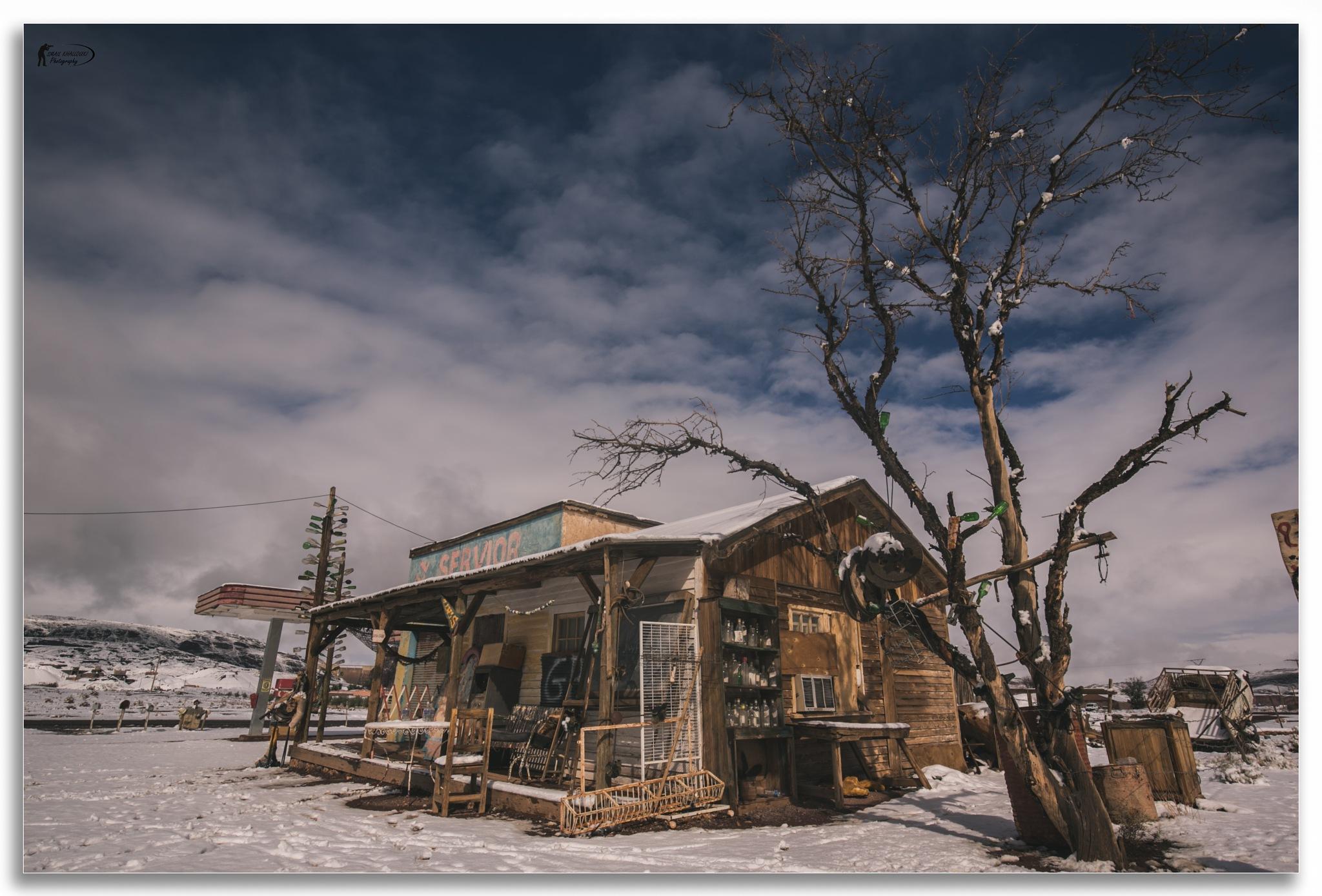 gas haven station by Ismail Khallouki