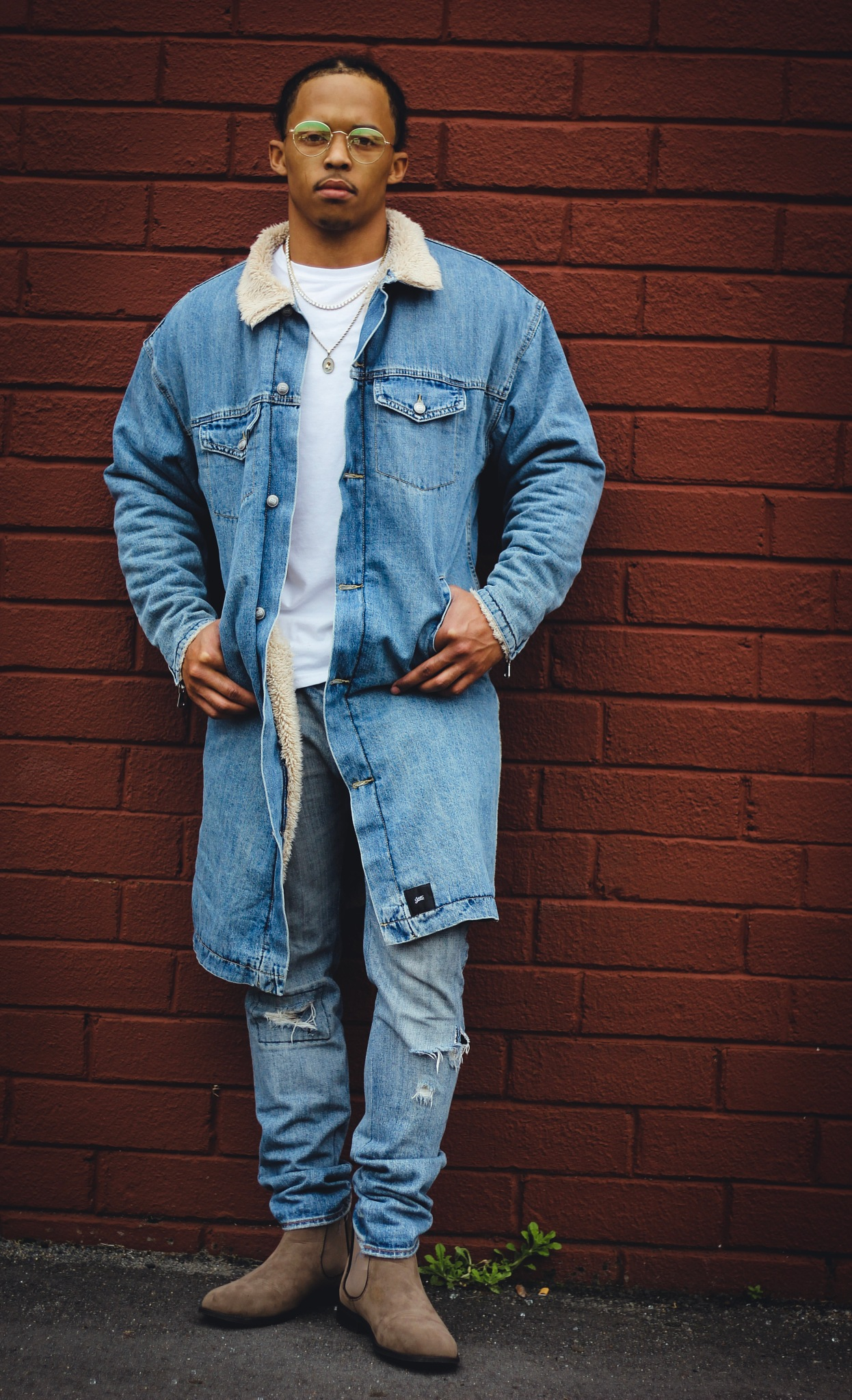 Denim is a love that nevers fade by Tyreece Griffin