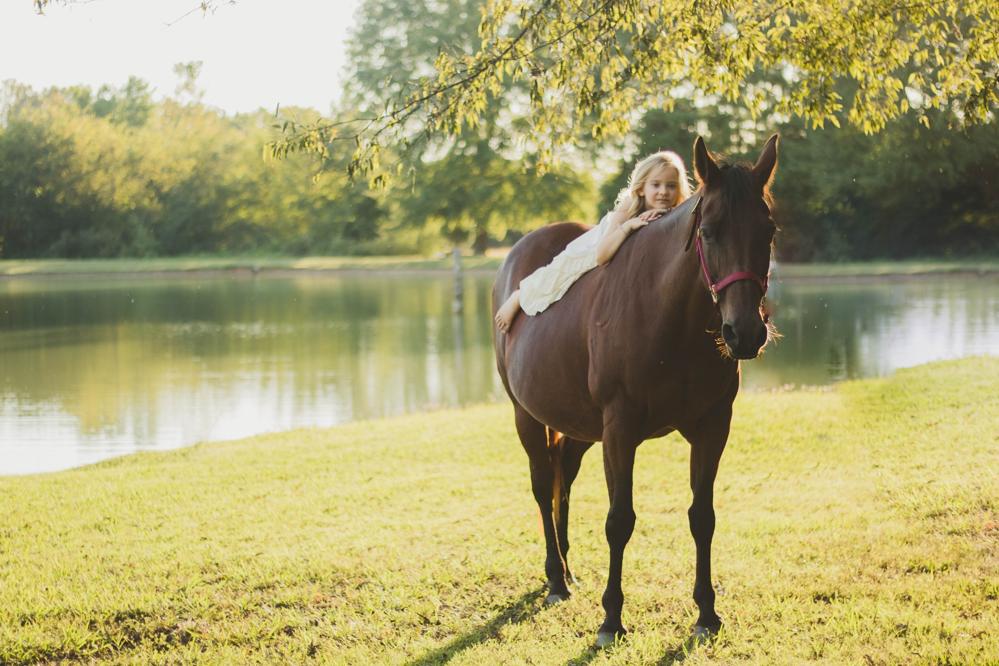 Horse Girl by Paper Crane Photography