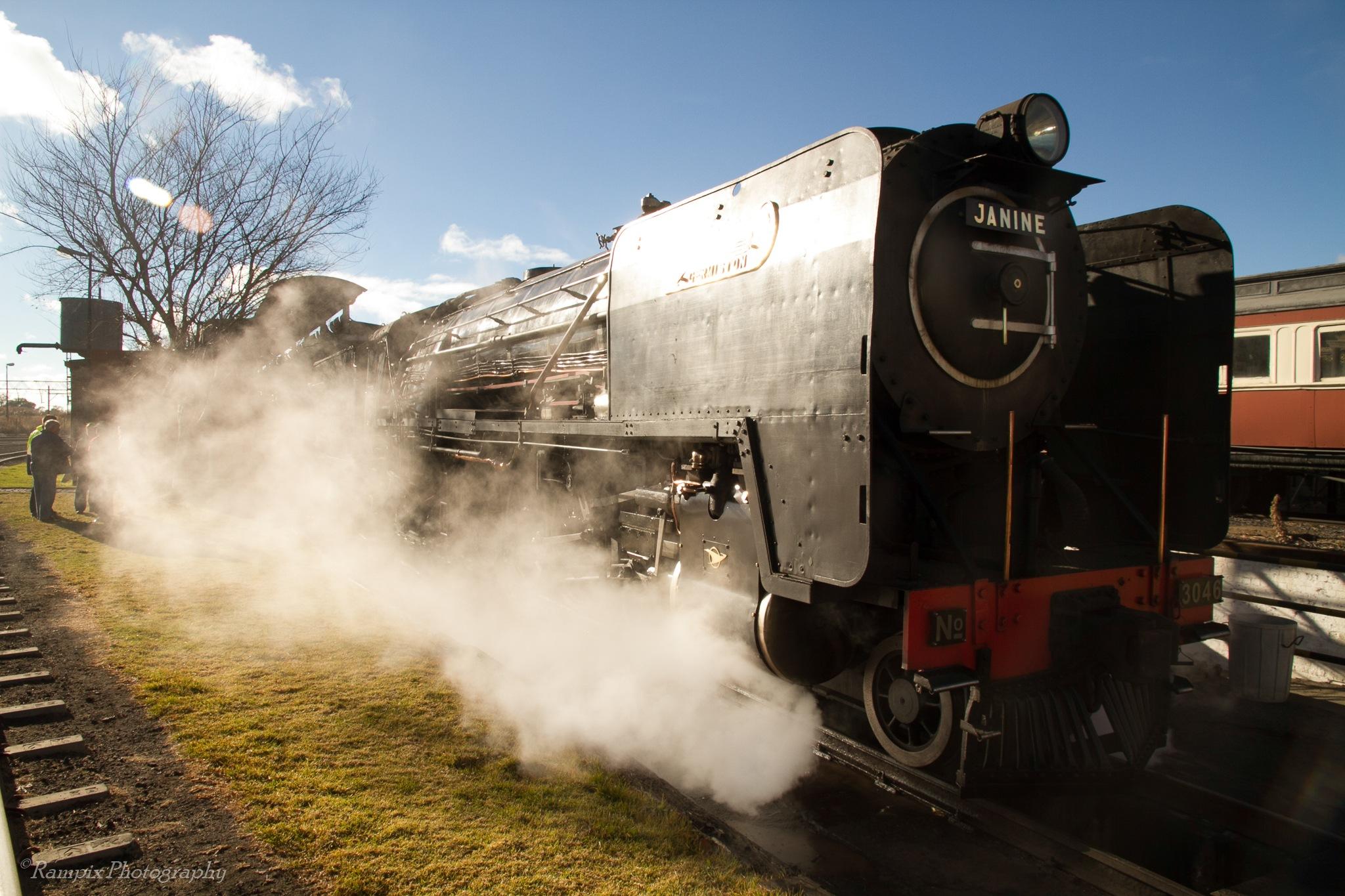 Steamtrain by Rampix