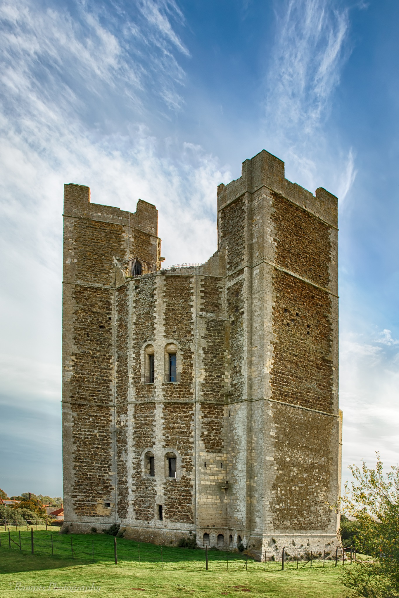 Orford Castle by Rampix