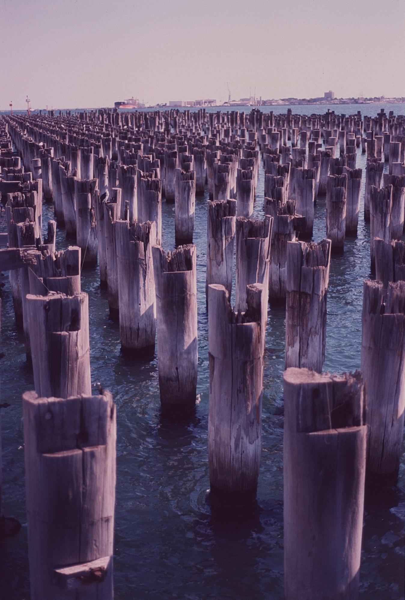 The Pier is Gone by Daniel Lockhart