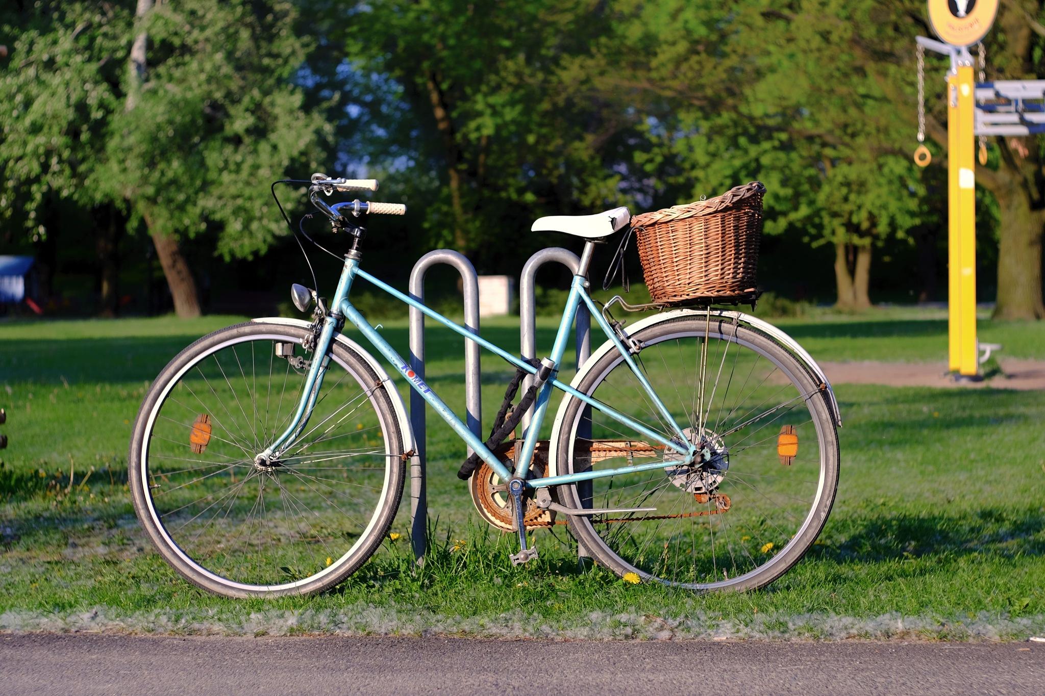 Old bike by Marcin