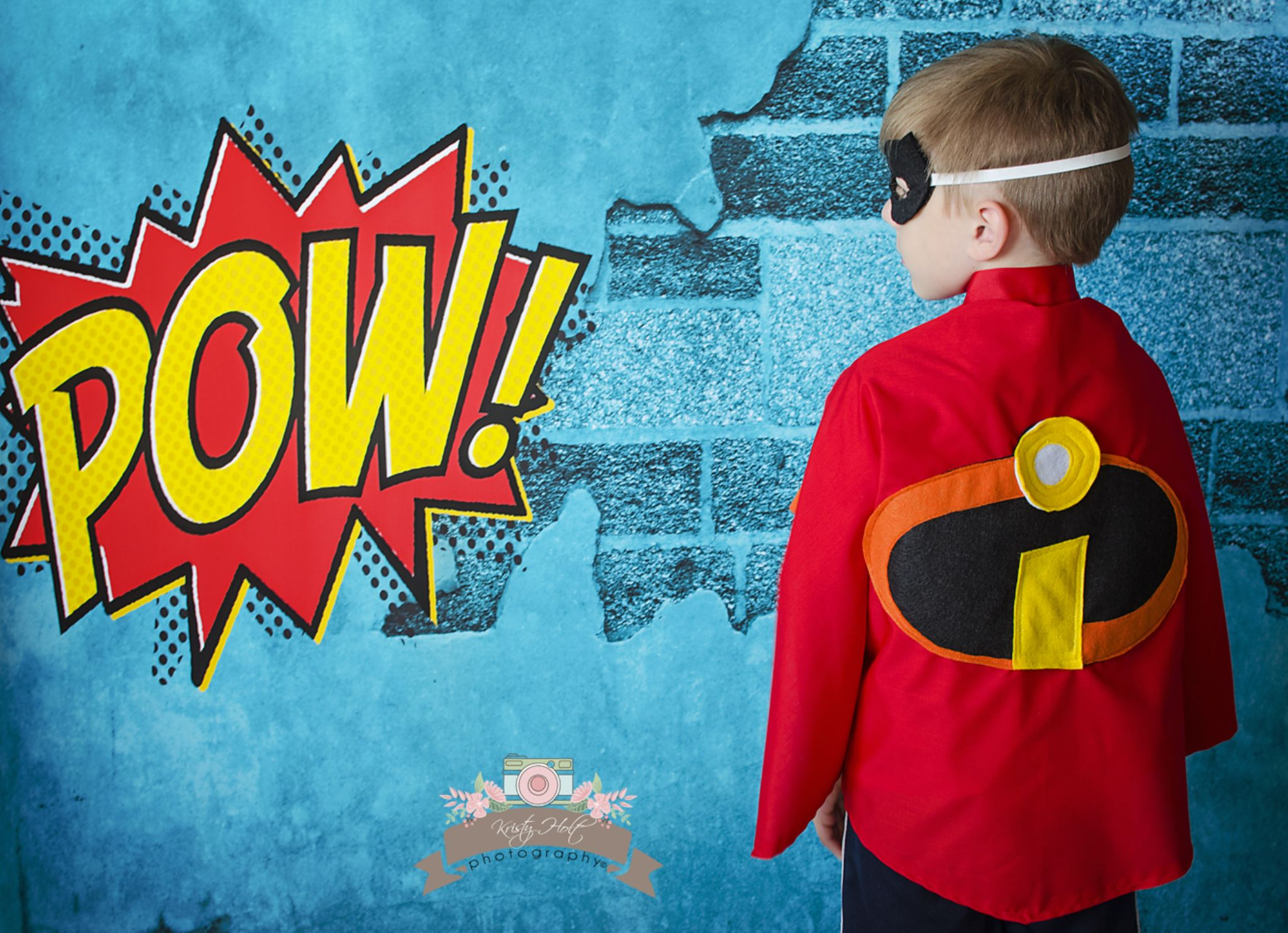 Mr. Incredible now has a cape by Kristy Holt