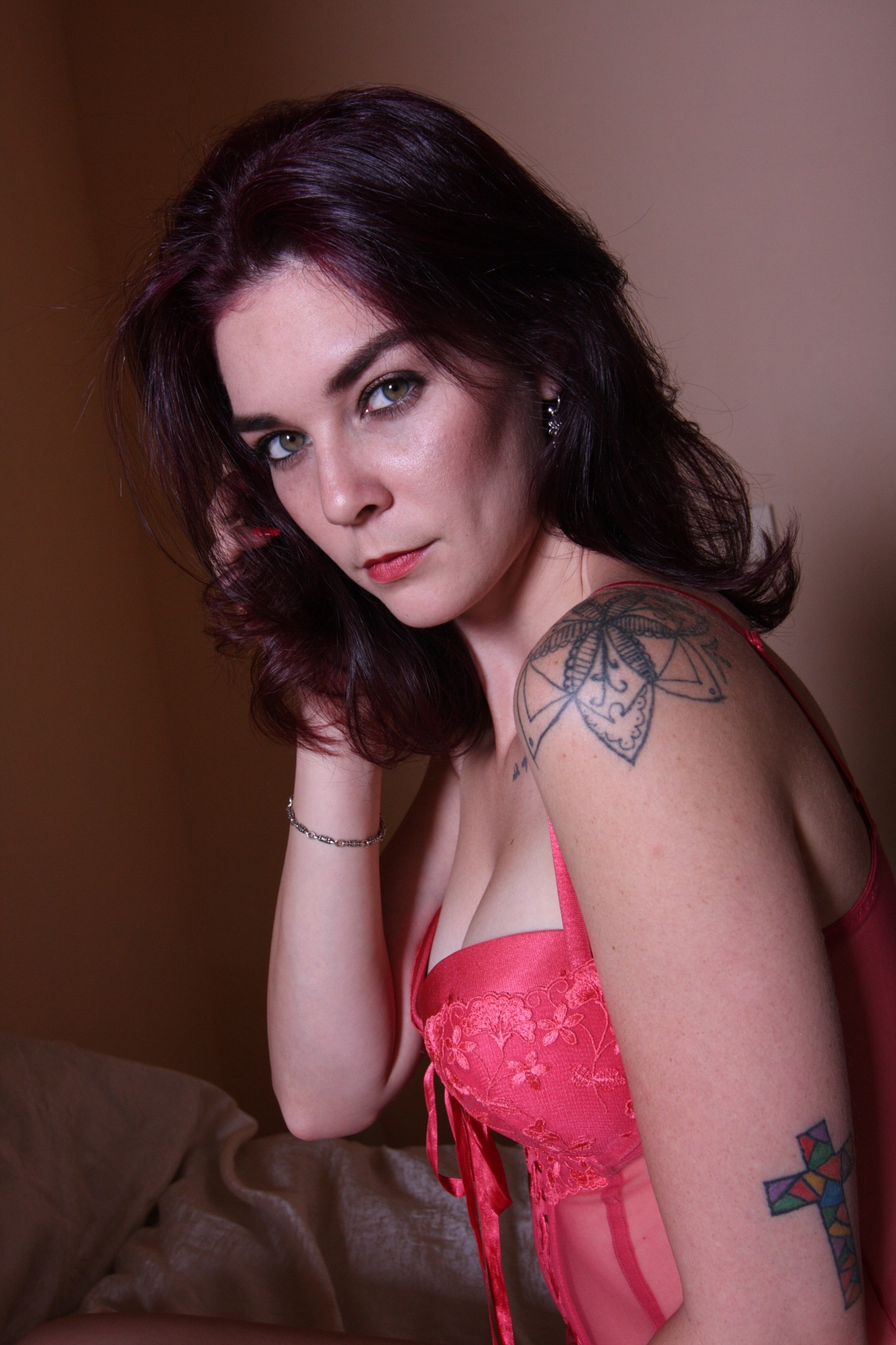 Boudoir with Donna by Mark Greenslade