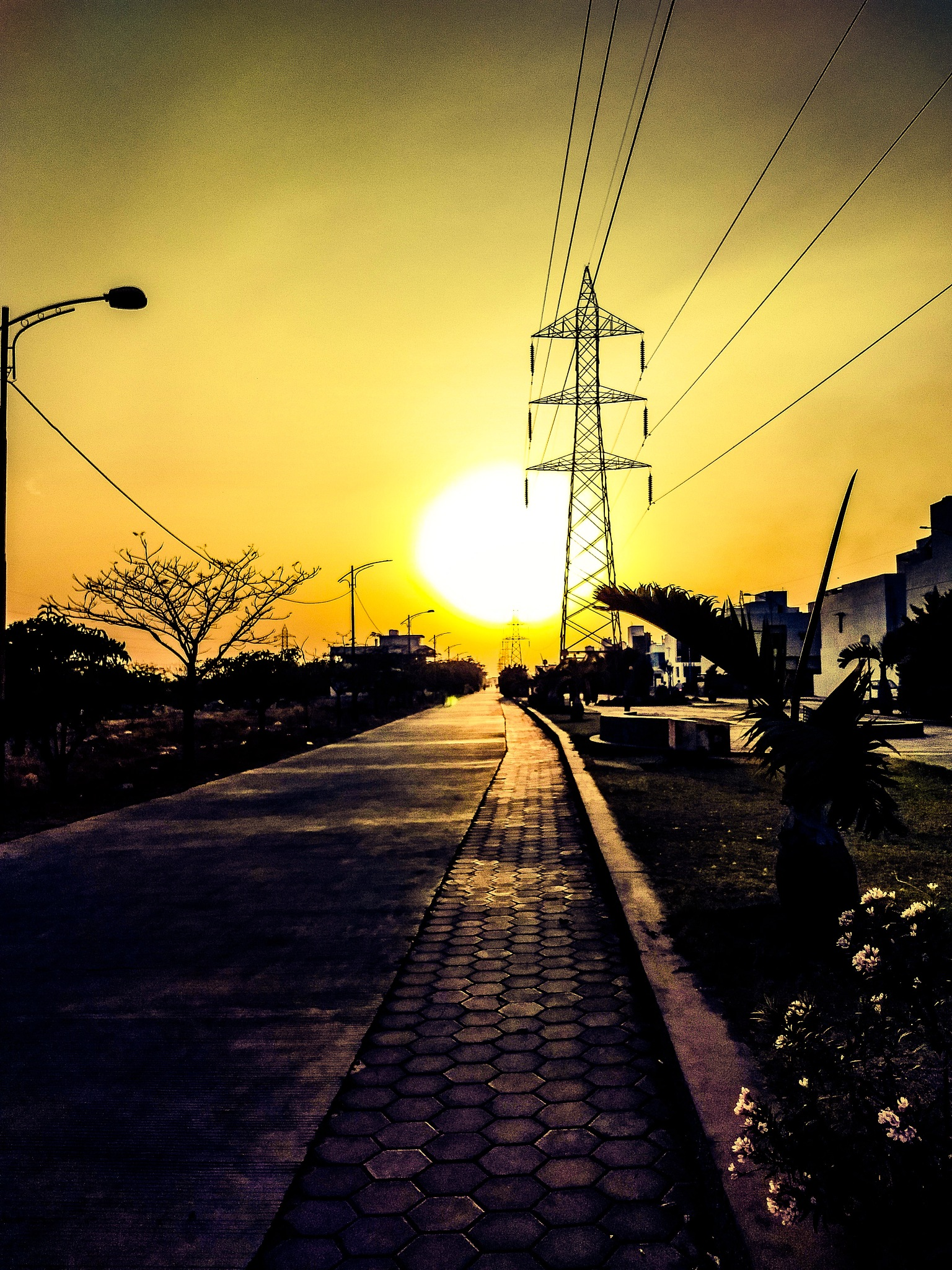 Sun of the urban era by Arpit paliwal