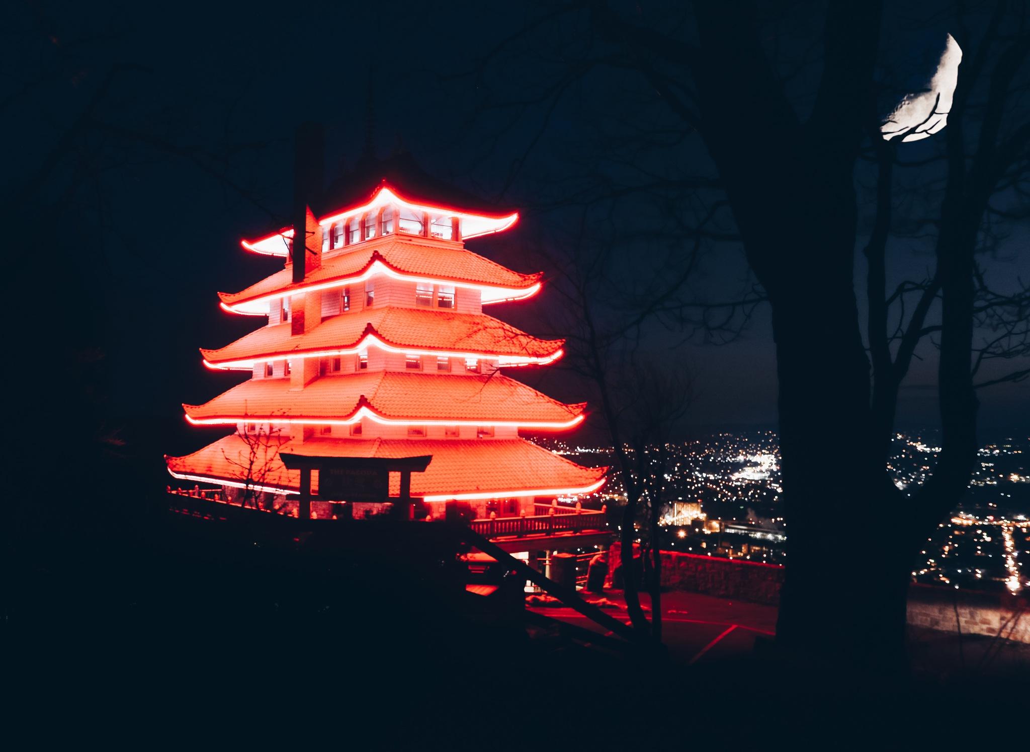 Reading Pagoda by Llewellyn Evans
