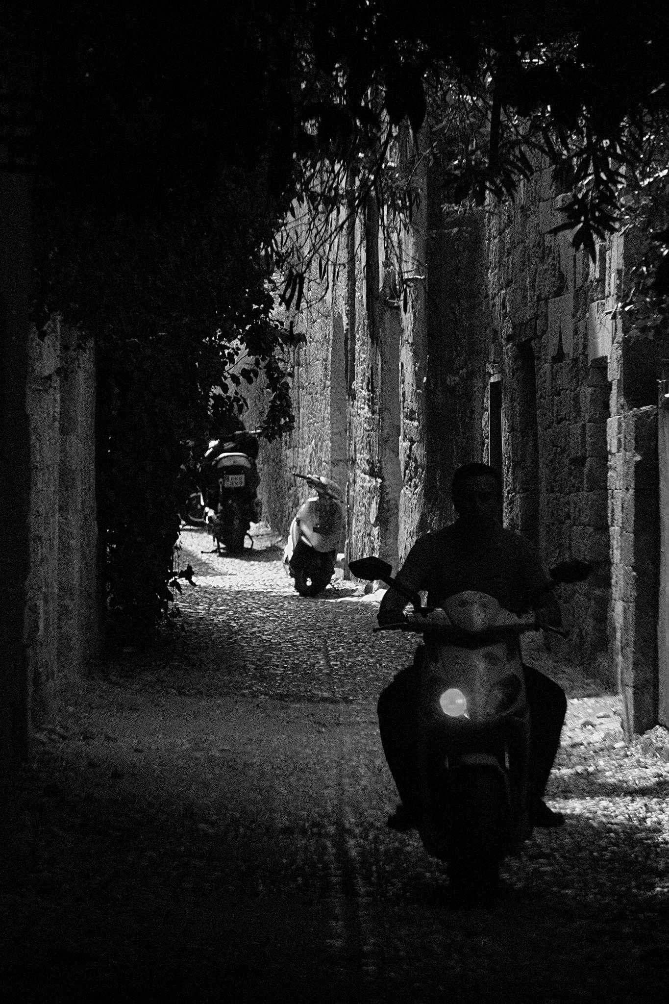 Alley by Verner Pedersen