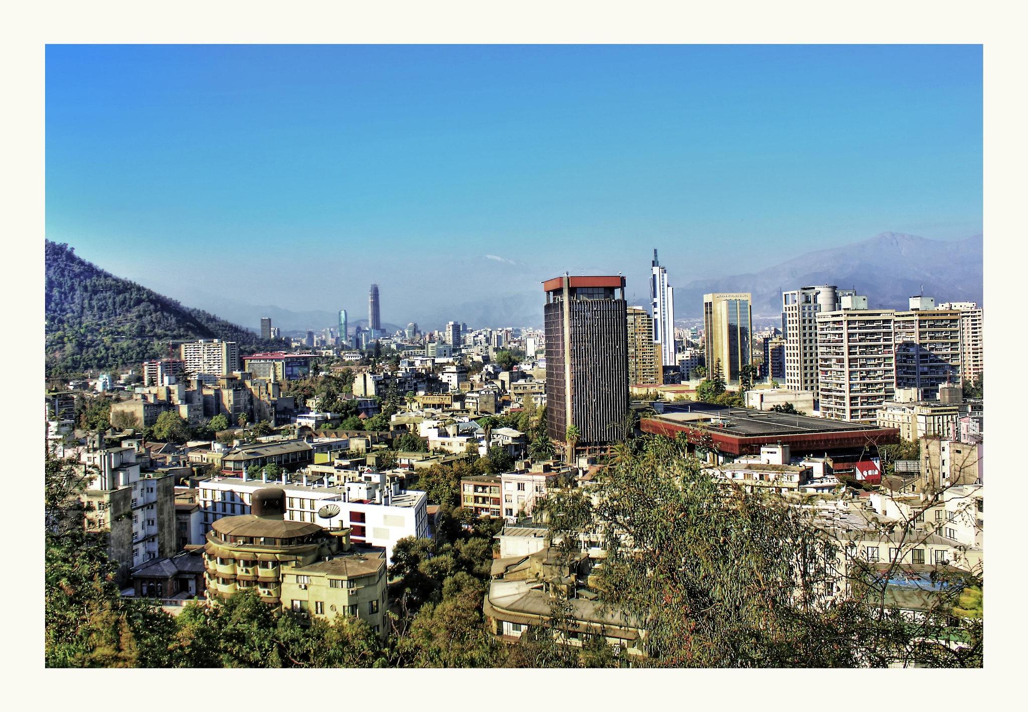 Santiago de Chile by Mauro Chk Hernandez