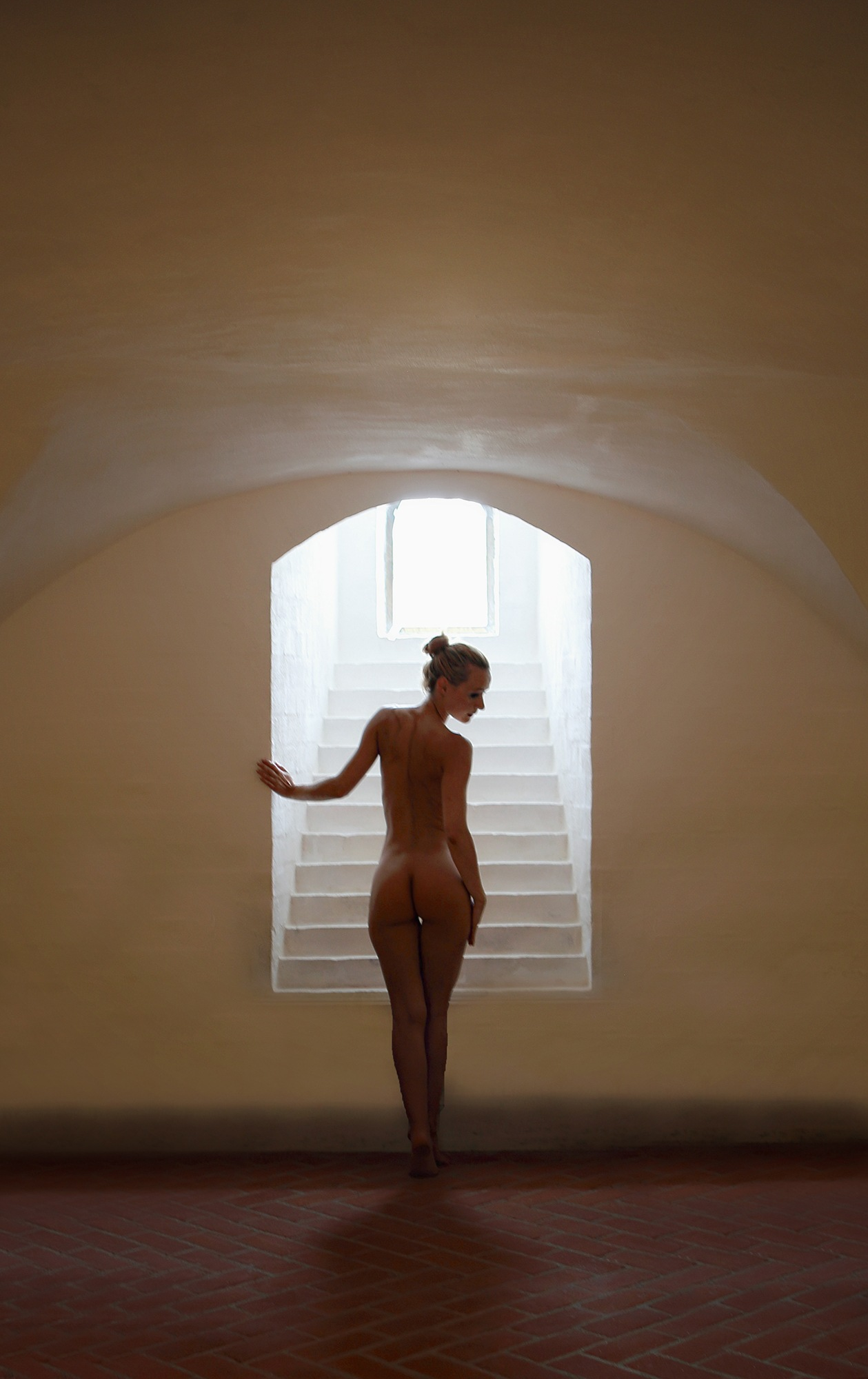 Stairway to....  by AB Tønnesen - Freelance model