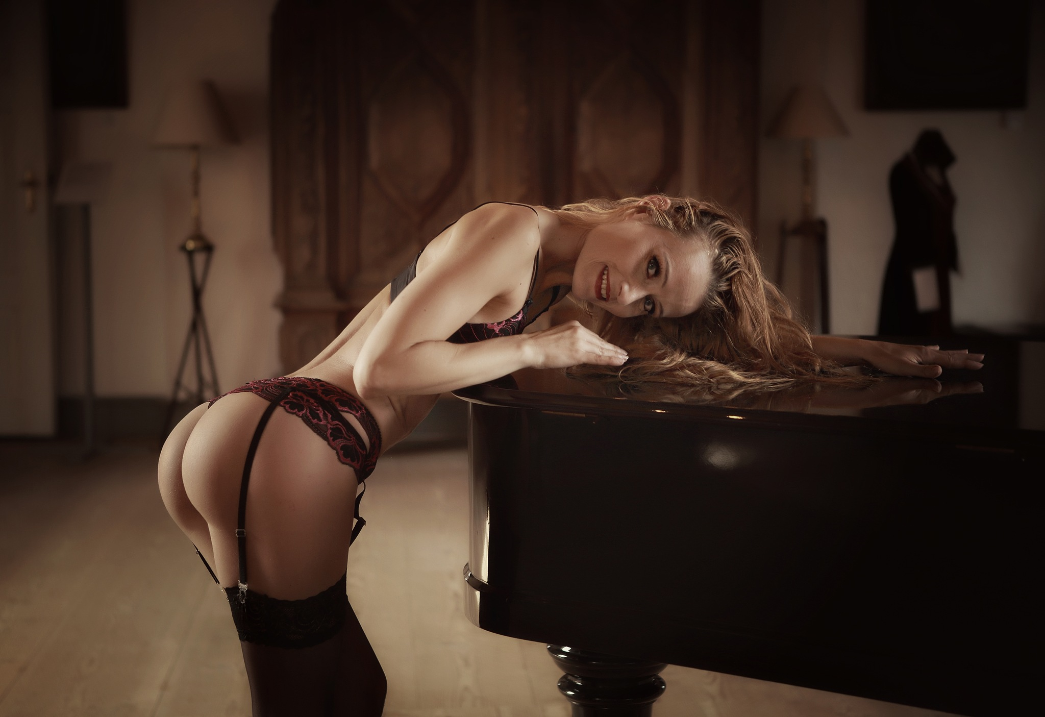 by the piano  by AB Tønnesen - Freelance model