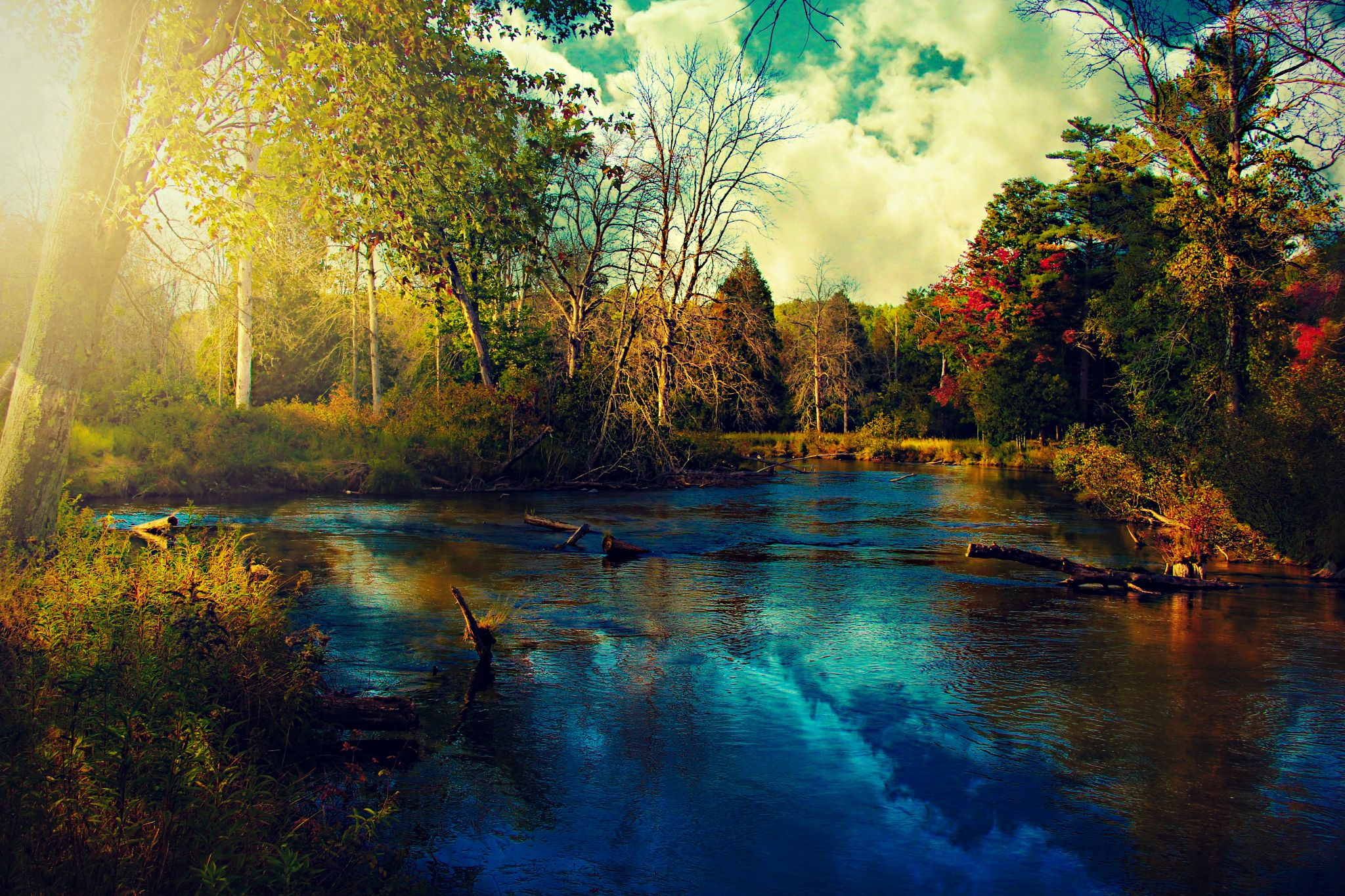 The Weir by Sarahmageeandersonphotography